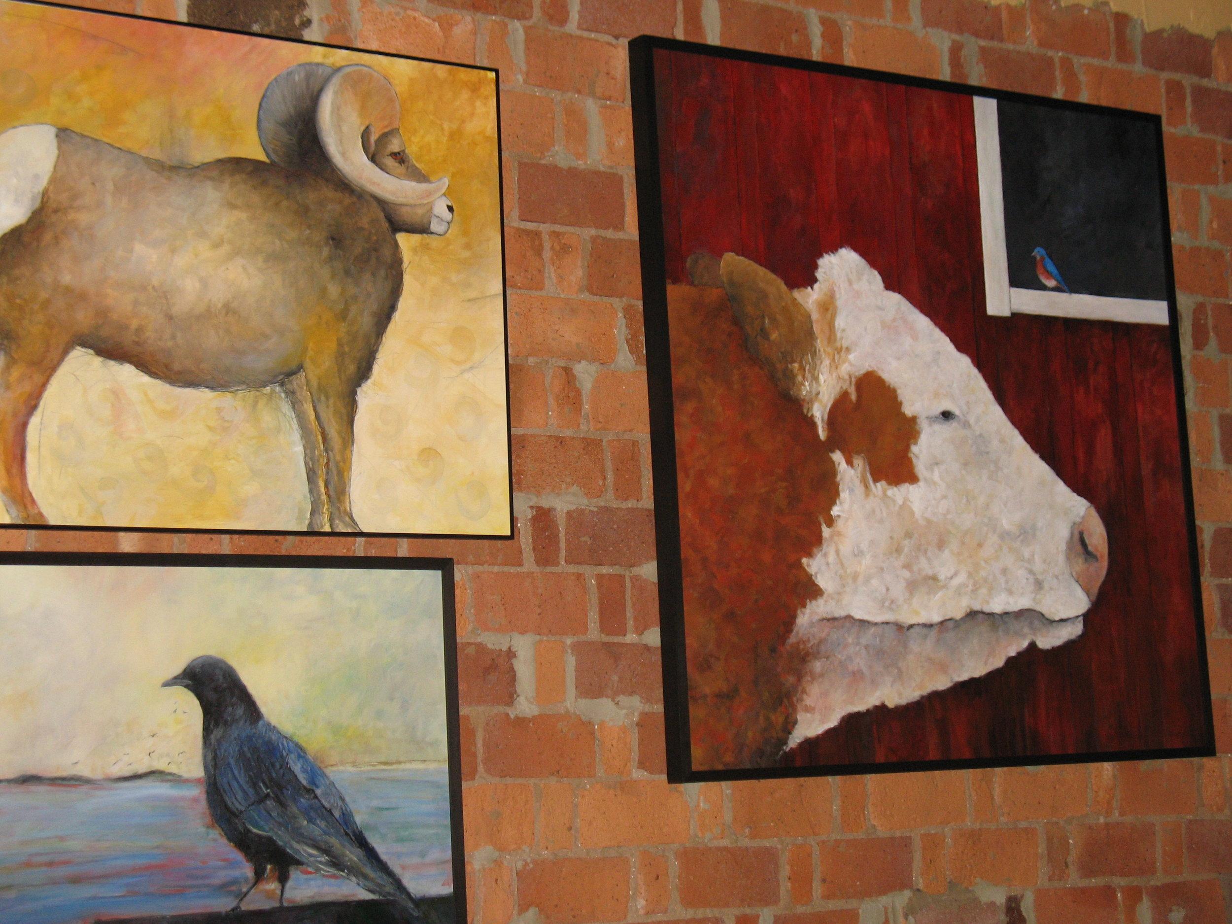 Artwork displayed at FFDT venue Clementine, 2012