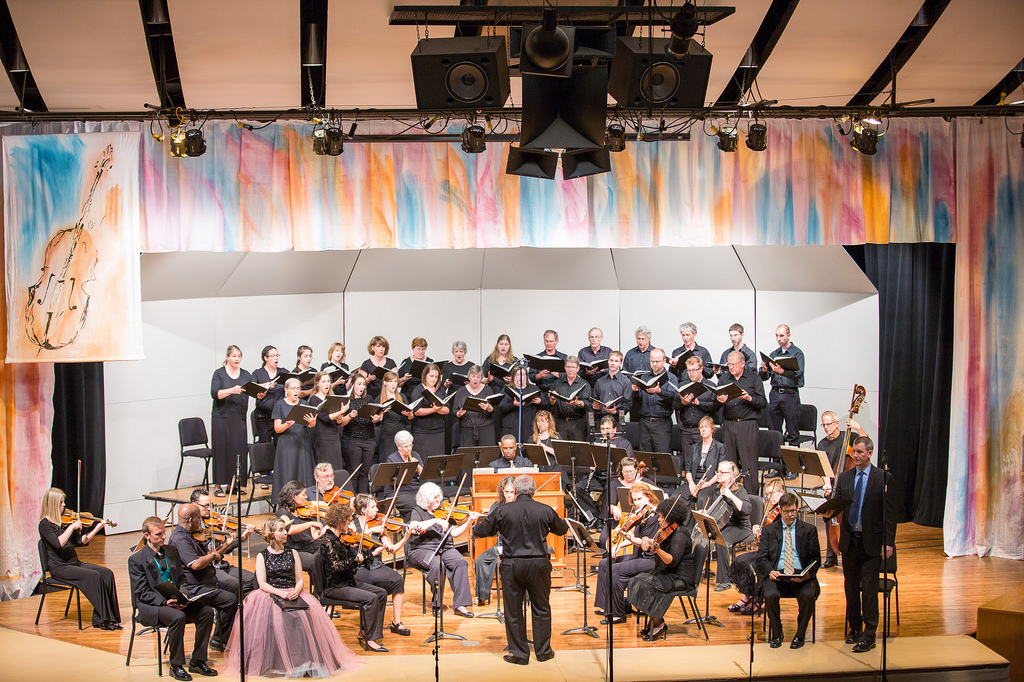 Members of the Shenandoah Valley Community come together to celebrate the annual Bach Festival