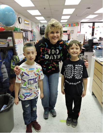 Students of South River Elementary show their creativity