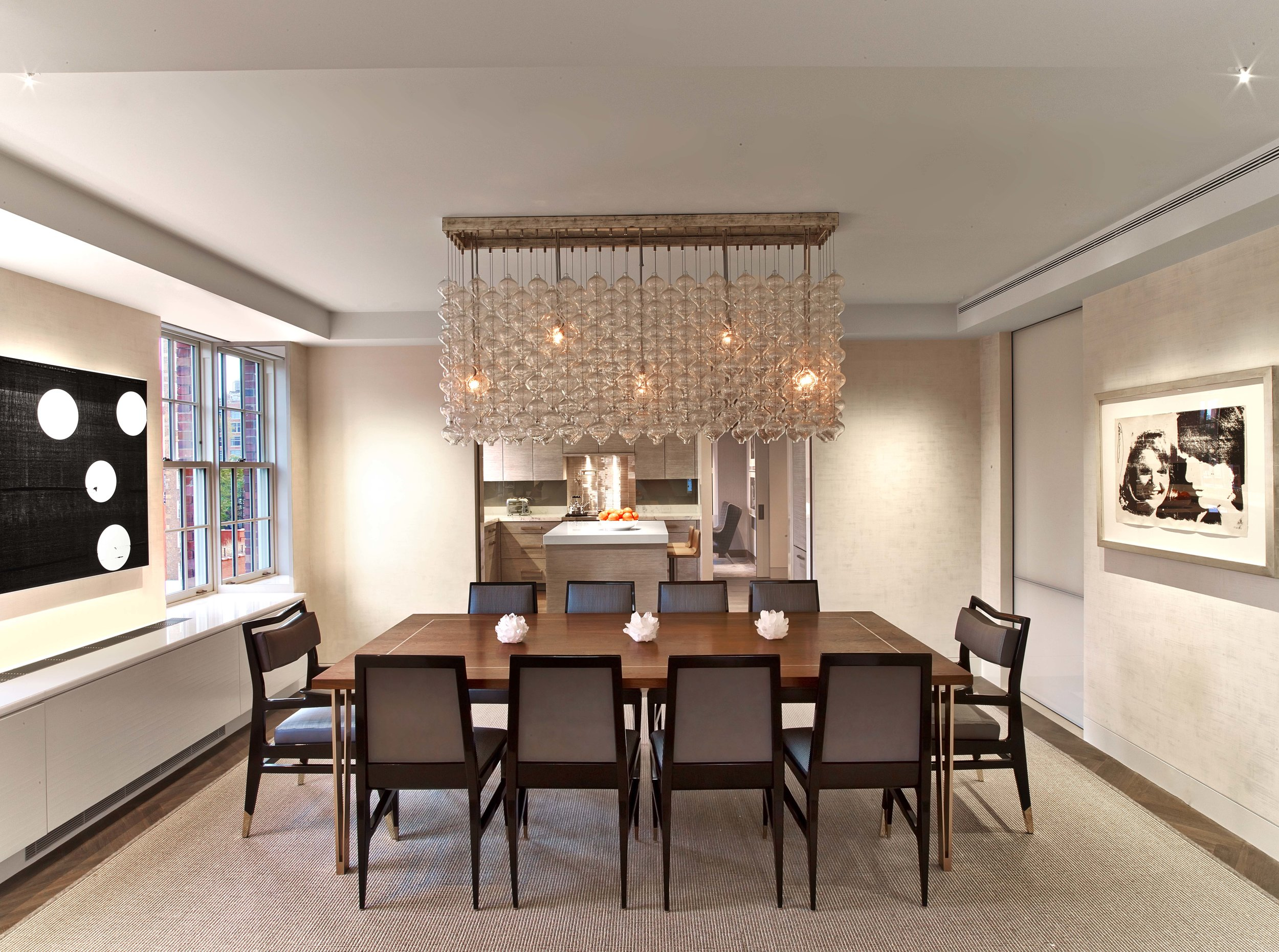 West Village Pied-a-Terre Dining Room