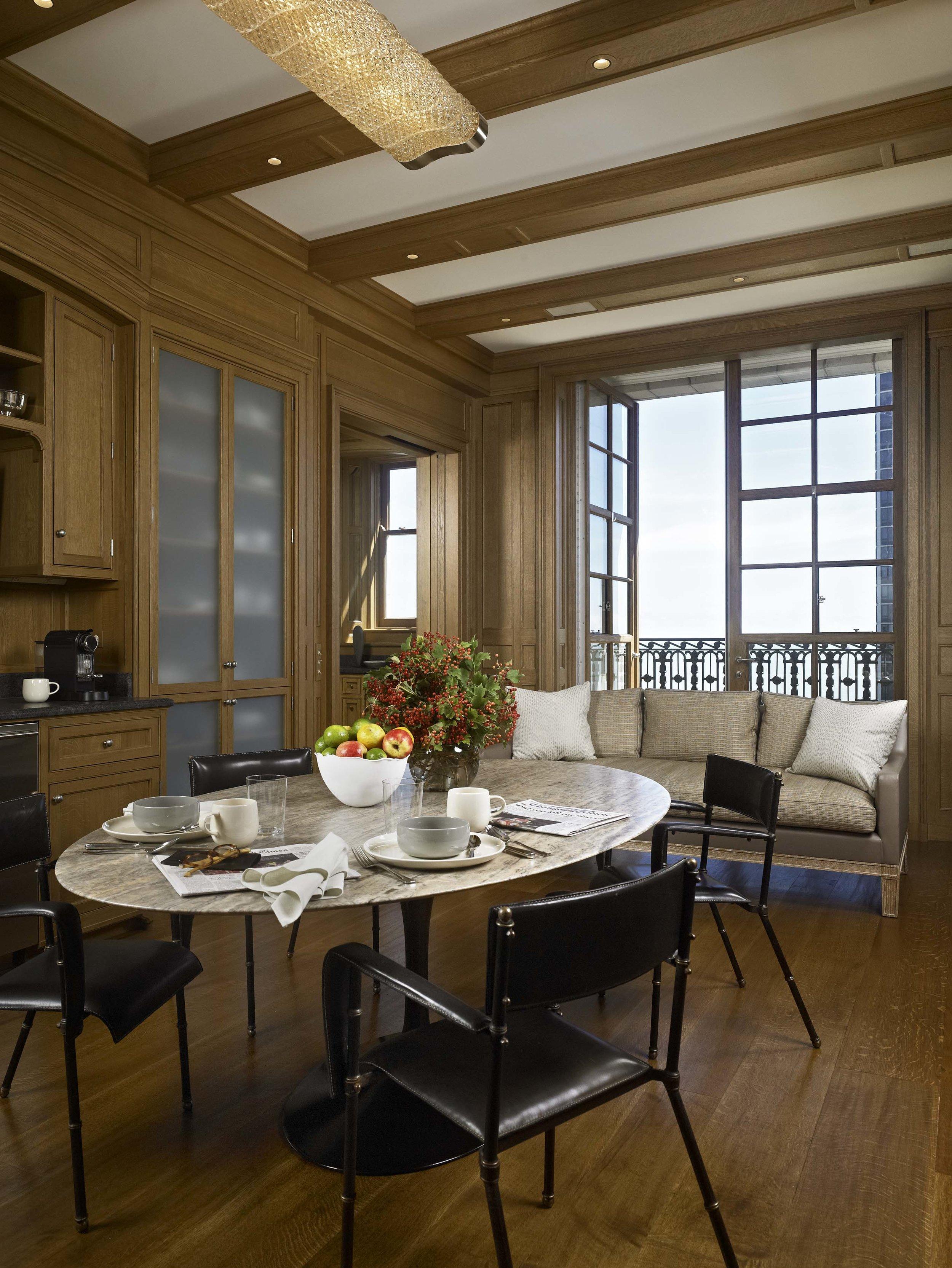 Lakeshore Drive Apartment Kitchen