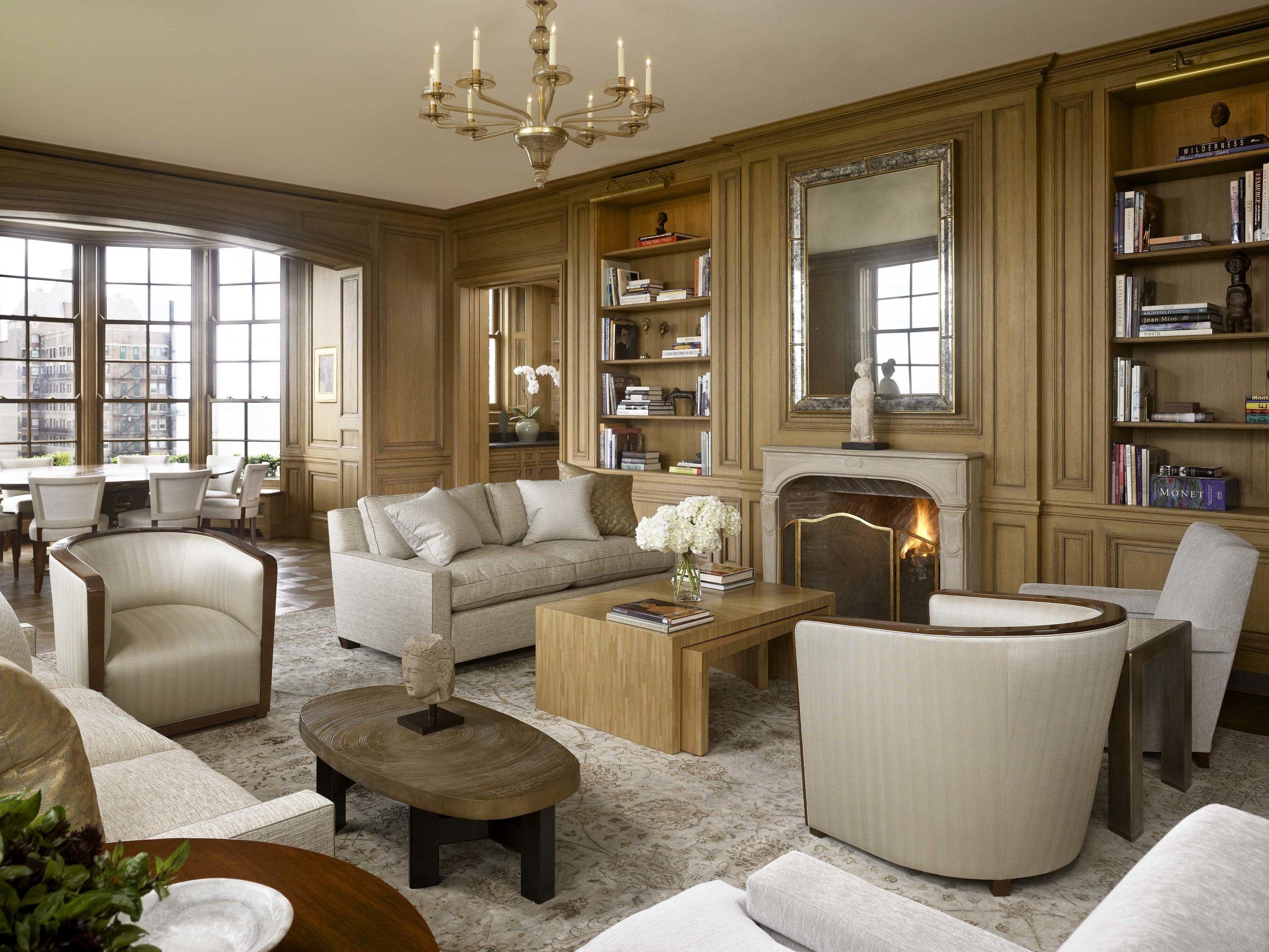 Lakeshore Drive Apartment Living Room