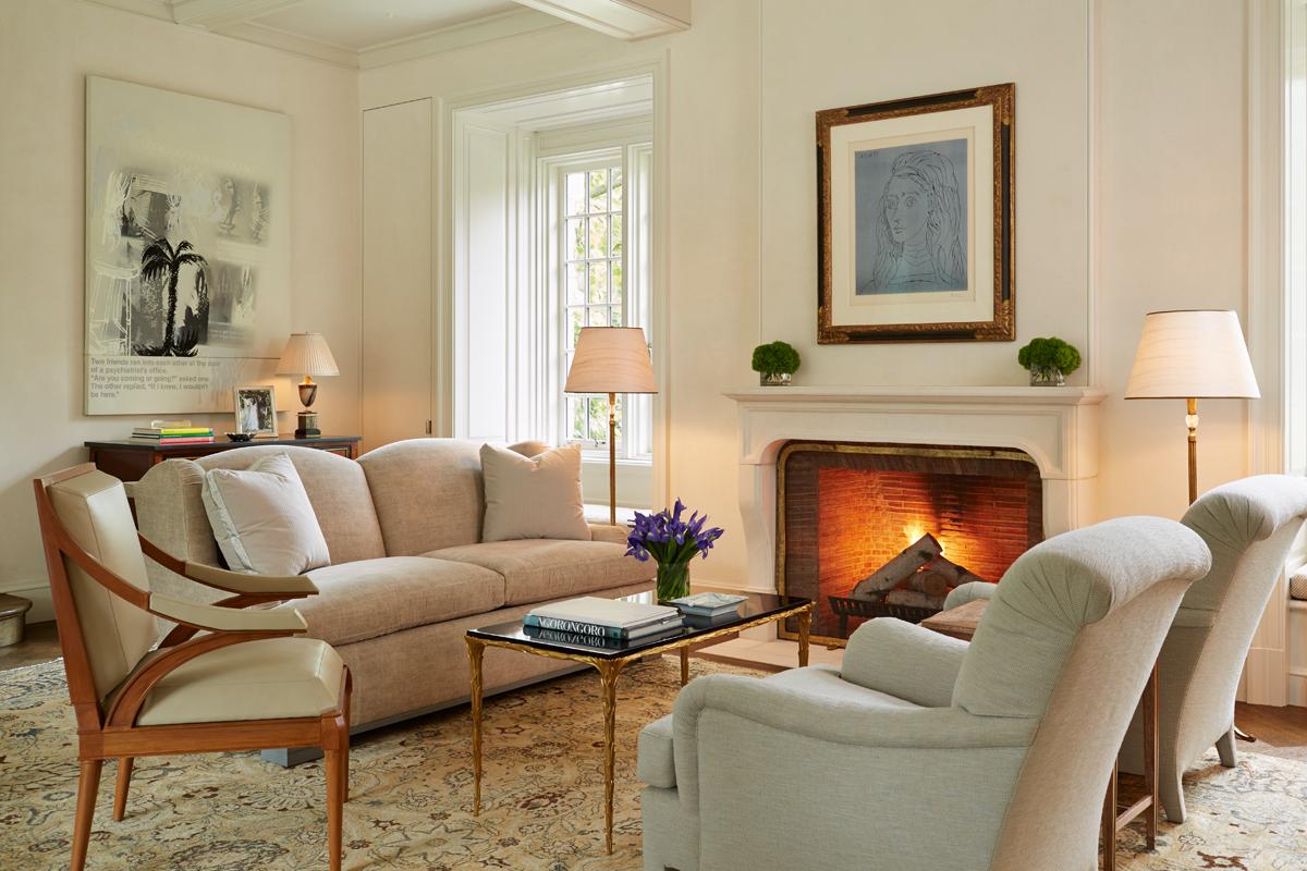 Winnetka Home Living Room