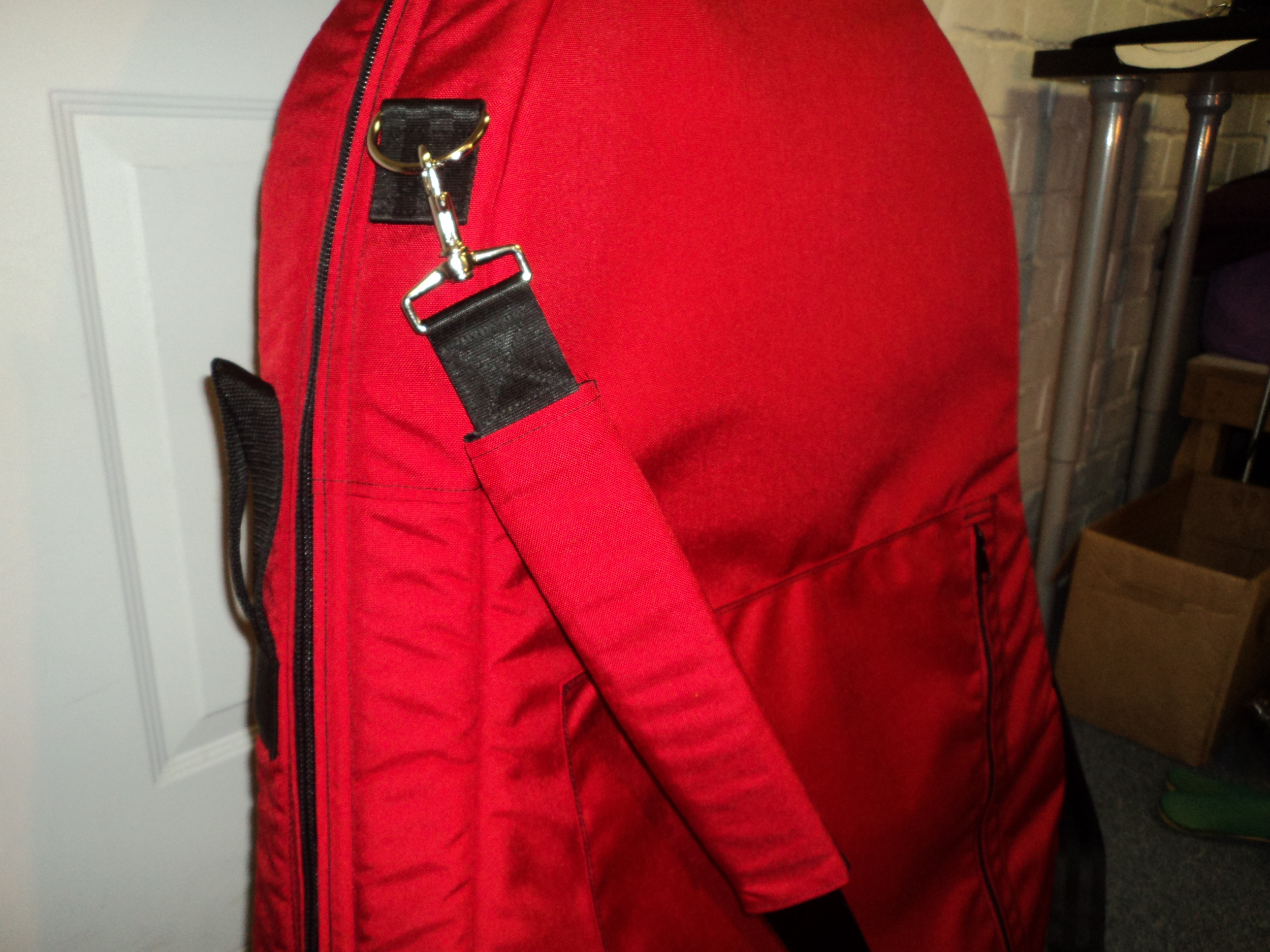 Padded Back-Pack Straps & Back pocket