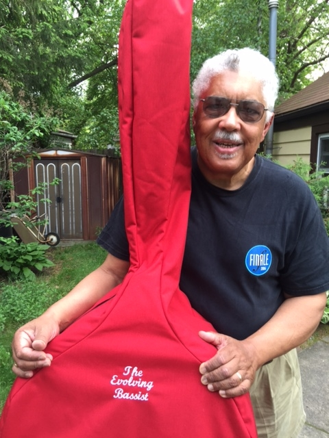 The Evolving Bassist Himself Rufus Reid - Custom Embroidery, Color & Size