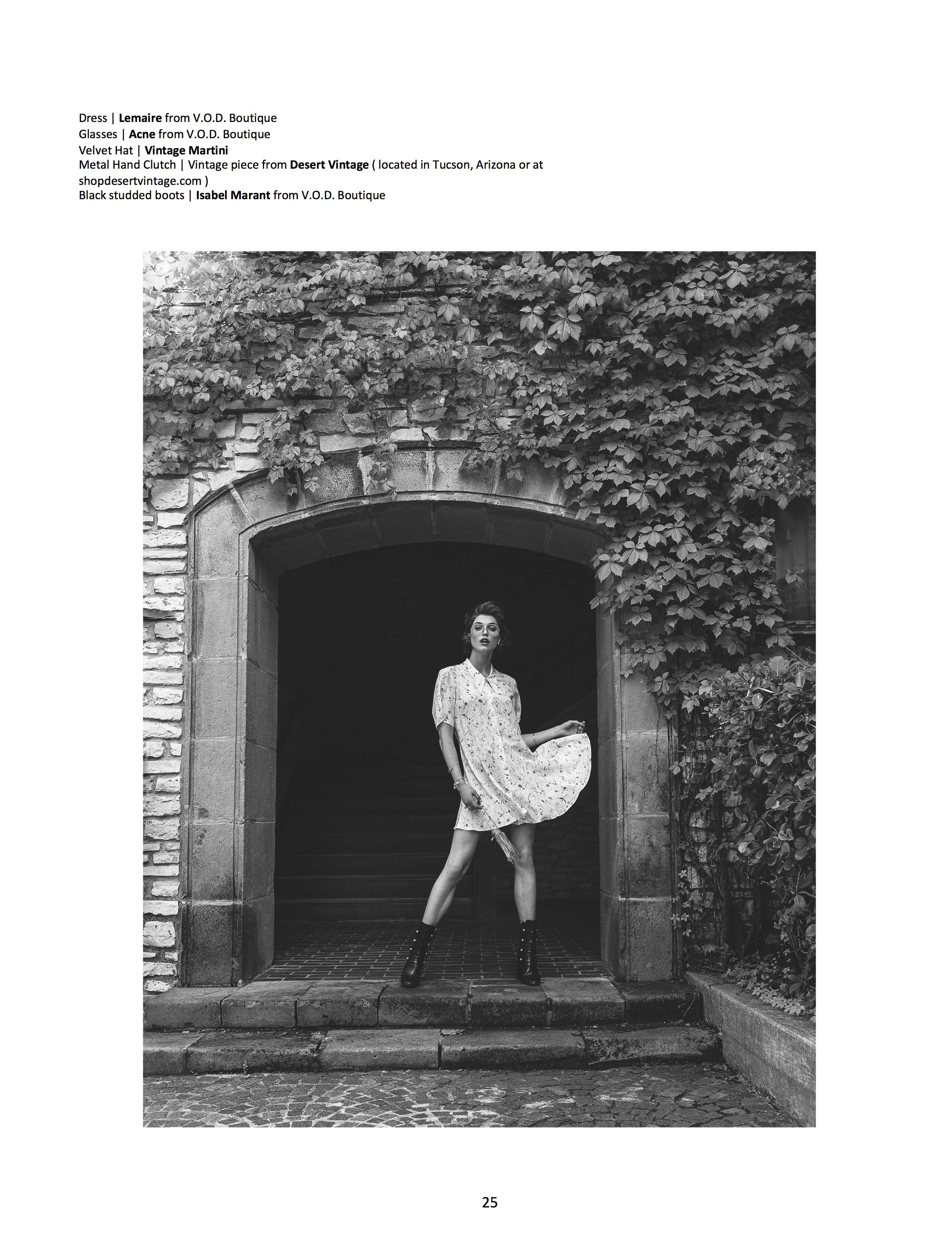 Kiersten Dolbec LoveBite Magazine Model