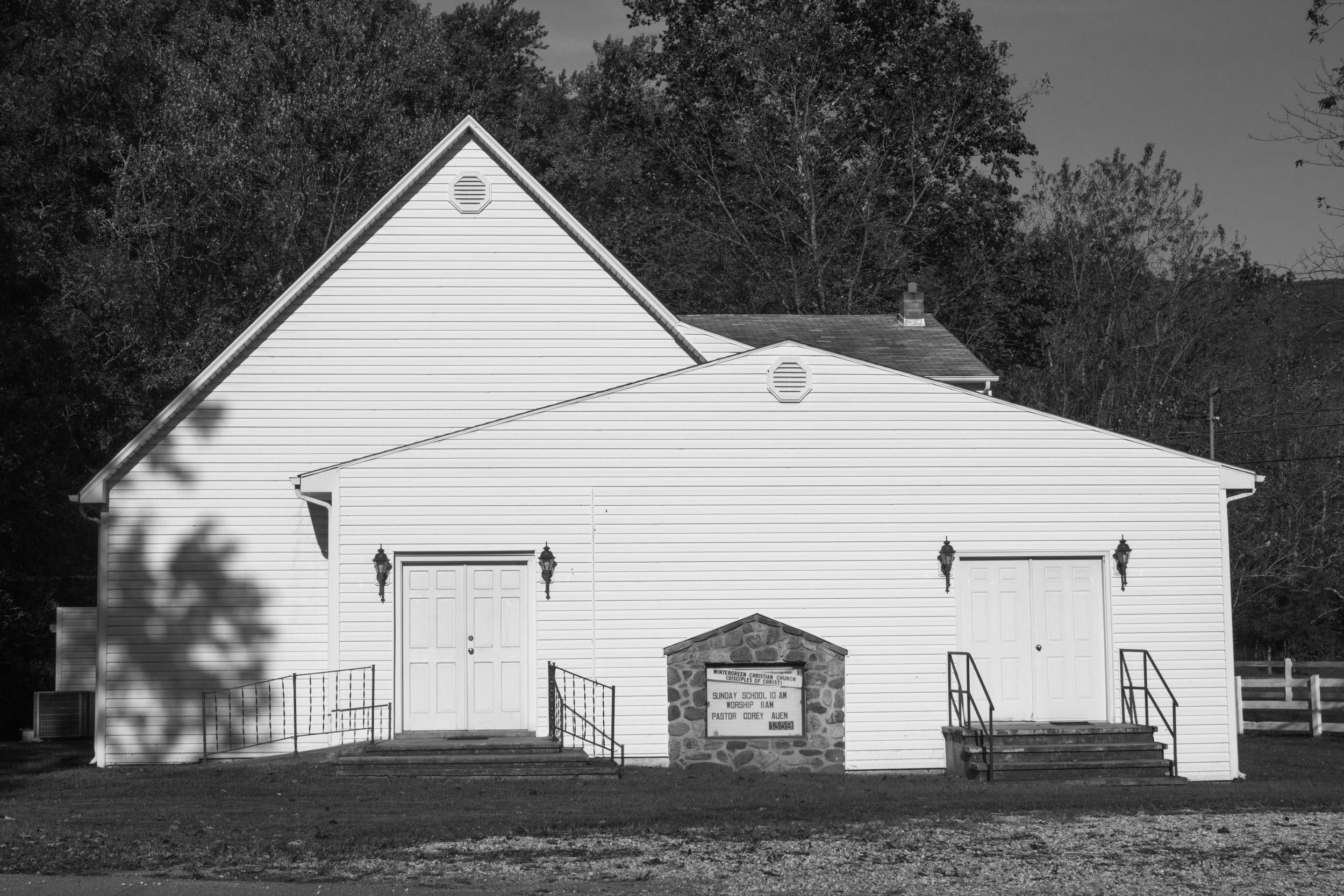 "Church #1, 11""x14"", Gelatin Silver Print, 2014"
