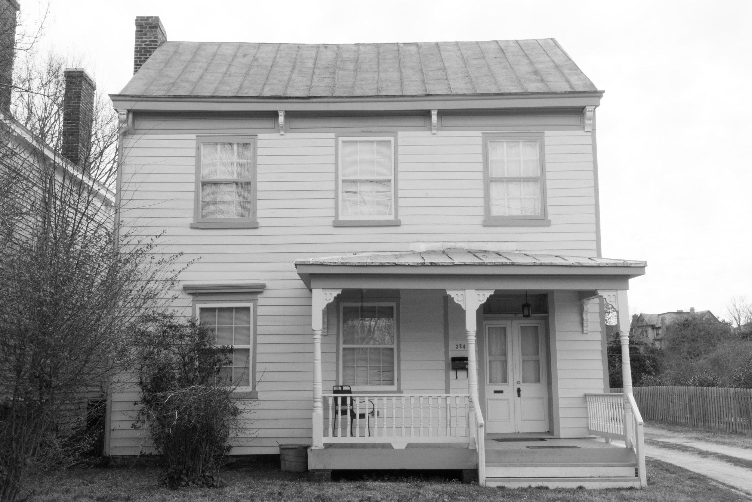 "Home #6, 11""x14"", Gelatin Silver Print"