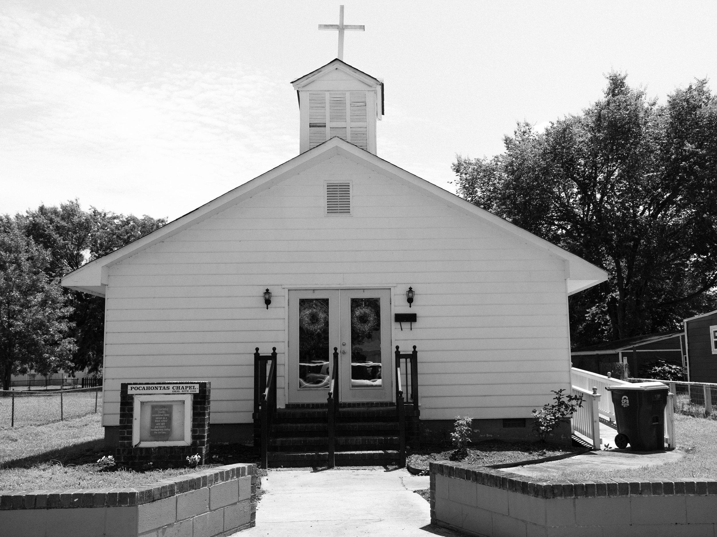 "Church #1, 11""x14"", Gelatin Silver Print, 2017"