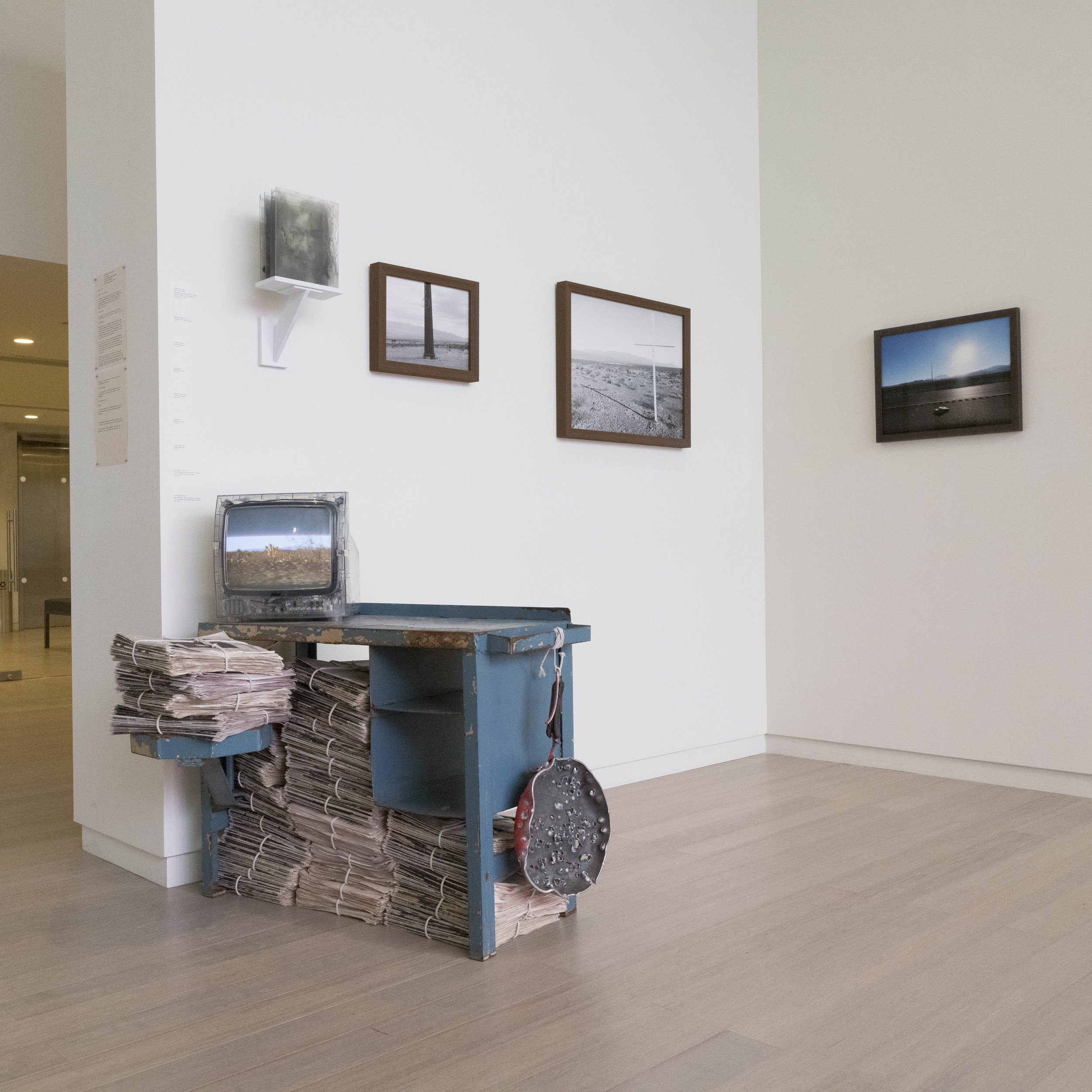 Installation at Wallach Gallery - Lenfest Center of the Arts, New York, New York, 2019