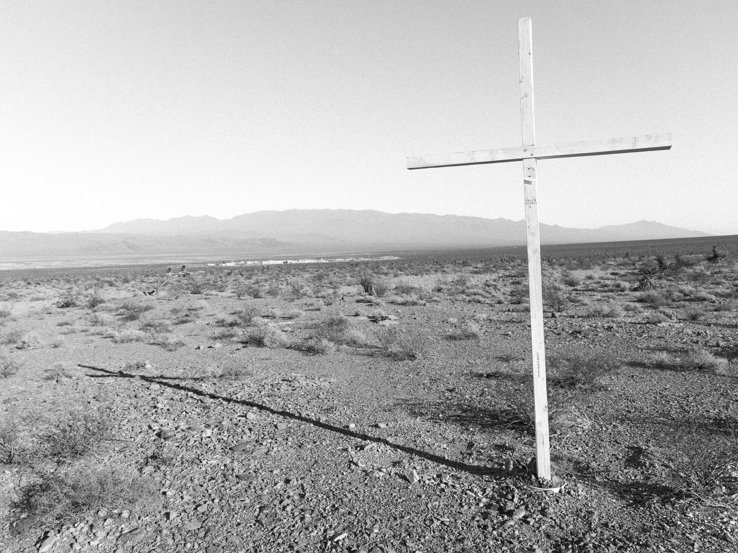 """Prison Cross, 20""""x26"""", Gelatin Silver Print, 2019"""