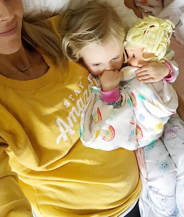 Sleep training babies.... (This doll sleeps sooooo good BEE TEE DUBS 😛) . Someone asked in an IG story if we trained our babes to sleep and the answer is YES-ish. . More like sleep suggestion? . Anyway, I've had four babies and did this soft routine with them that initiates a good bedtime schedule. . IF YOU ARE ABOUT TO HAVE A BABY OR JUST HAD ONE, go check out my 👶🏼 Zzz's highlight and be blessed. . I was super thankful when our doctor/fellow mama friend told me about this and so is my husband! 🥳 . It provided for us a clear simple plan for all of us to encourage SLEEP. . Were your kiddos good sleepers or....?🙈 . . . . . . . . . #babybump #babynumber6 #birth #duein2019 #dueinoctober #itsaboy #liveauthentic #momlife #motherhood #pregnancy #pregnancyafterloss #pregnancyglow #pregnant #rainbowbaby #homebirth #waterbirth #mamatips #momblogger  #candidchildhood #documentyourdays #familyfirst #familylife #instamom #momsofinstagram #motherhoodunplugged #womensupportingwomen