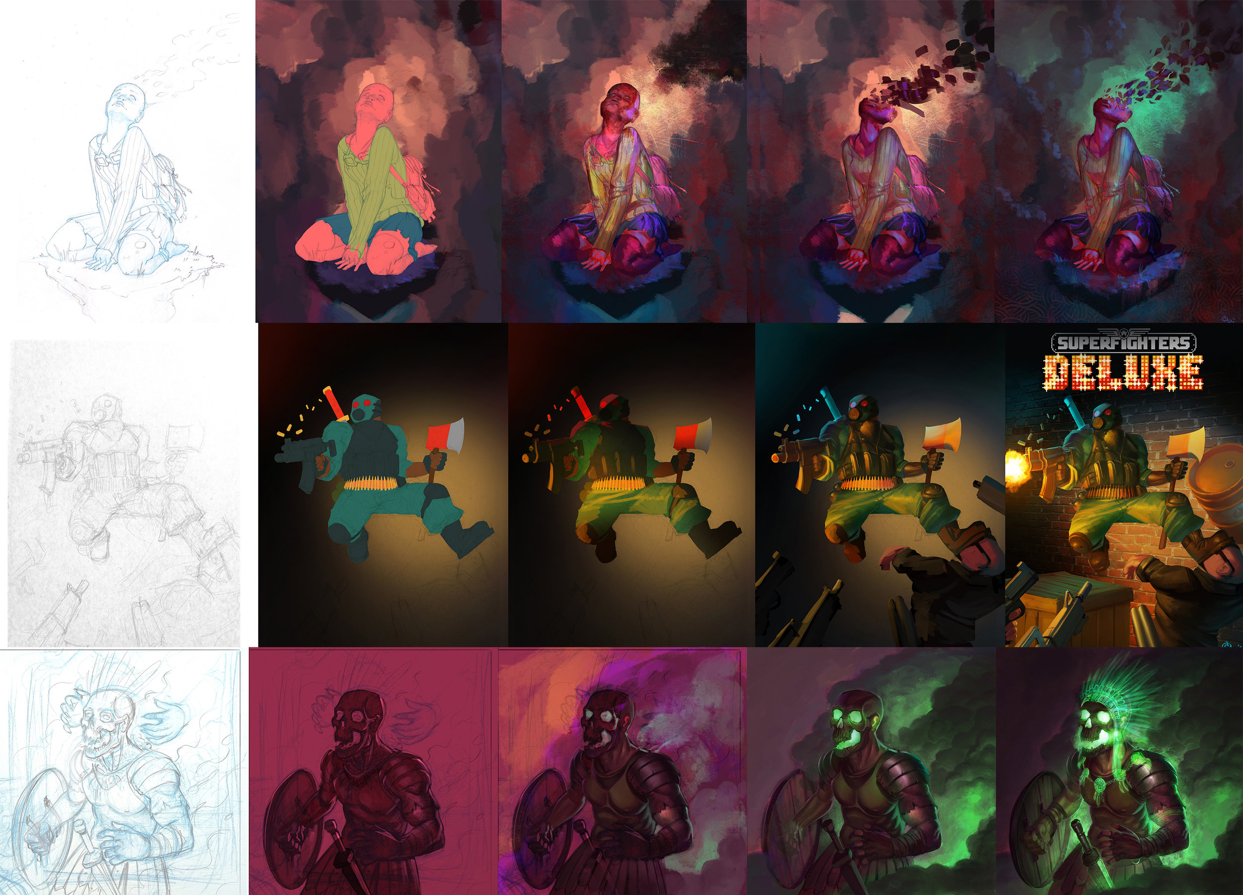 DIGITAL PAINTING - Portrait - $100 per subjectFull color illustration - $325-500*Prices may vary depending on complexity.*