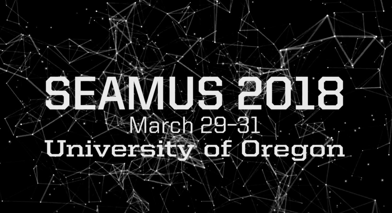March 29-31 SEAMUS 2018 at the University of Oregon - Performance of Medical Text p.57 with  Lucas Marshall Smith