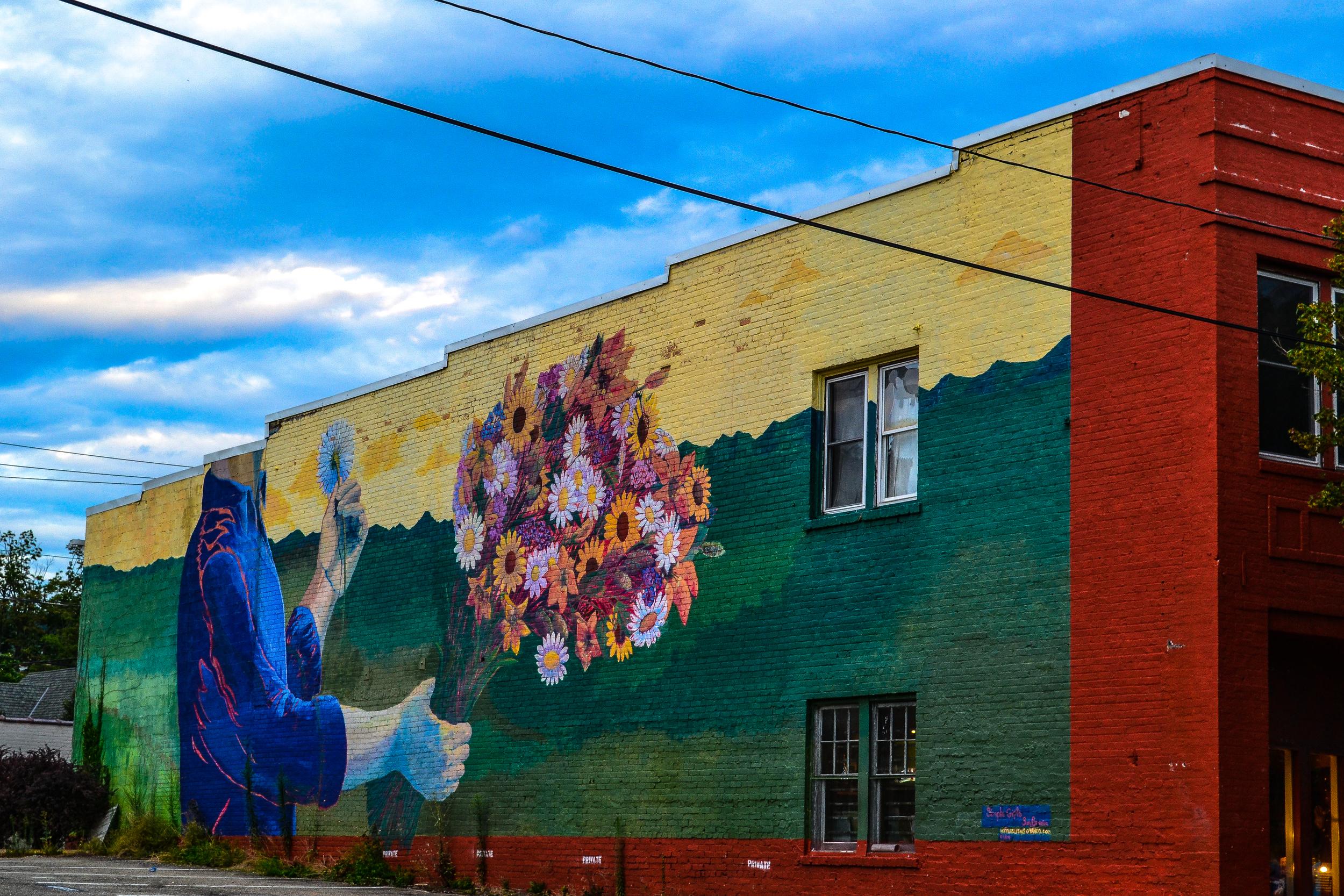 Flower Bouquet Graffiti