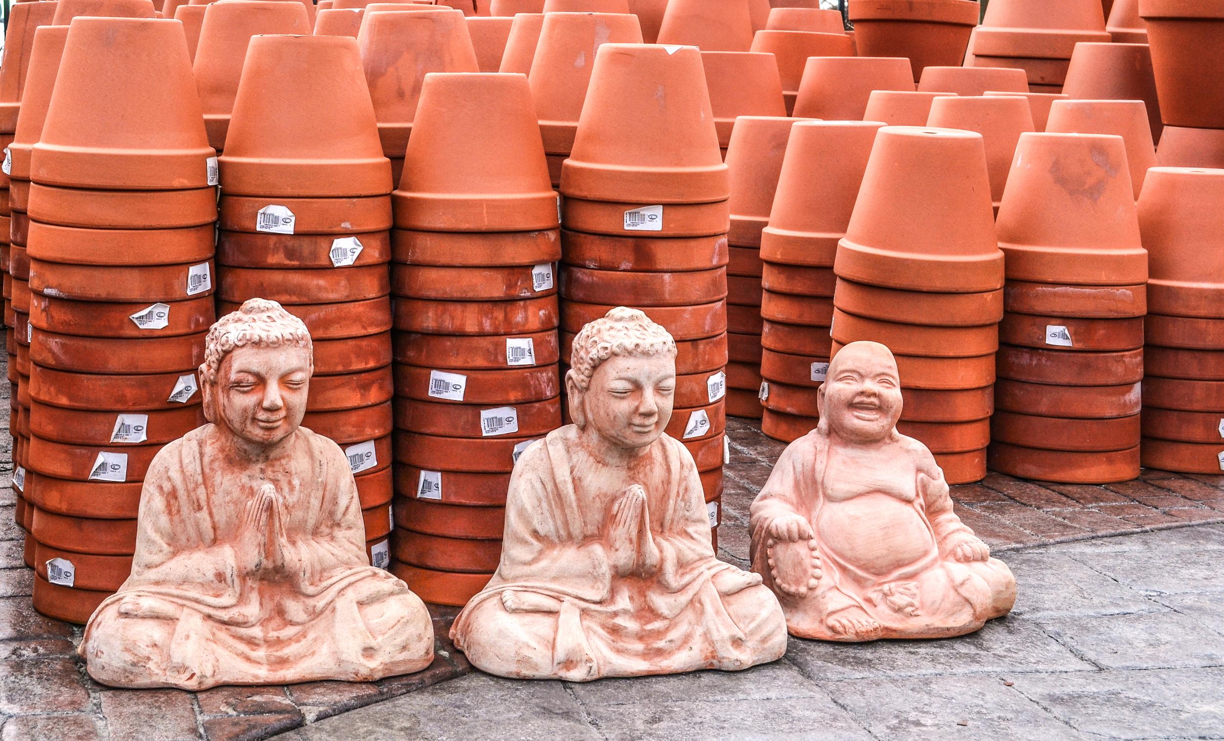 The Three Buddahs