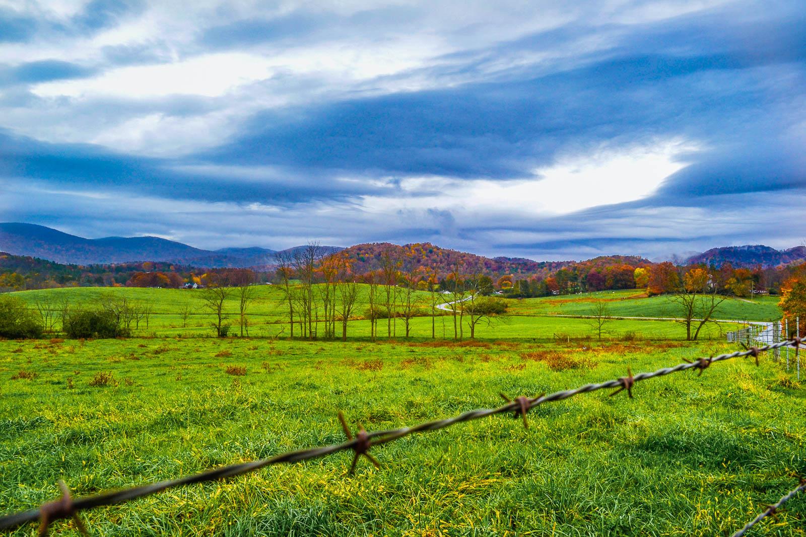 Autumn Day On the Farm