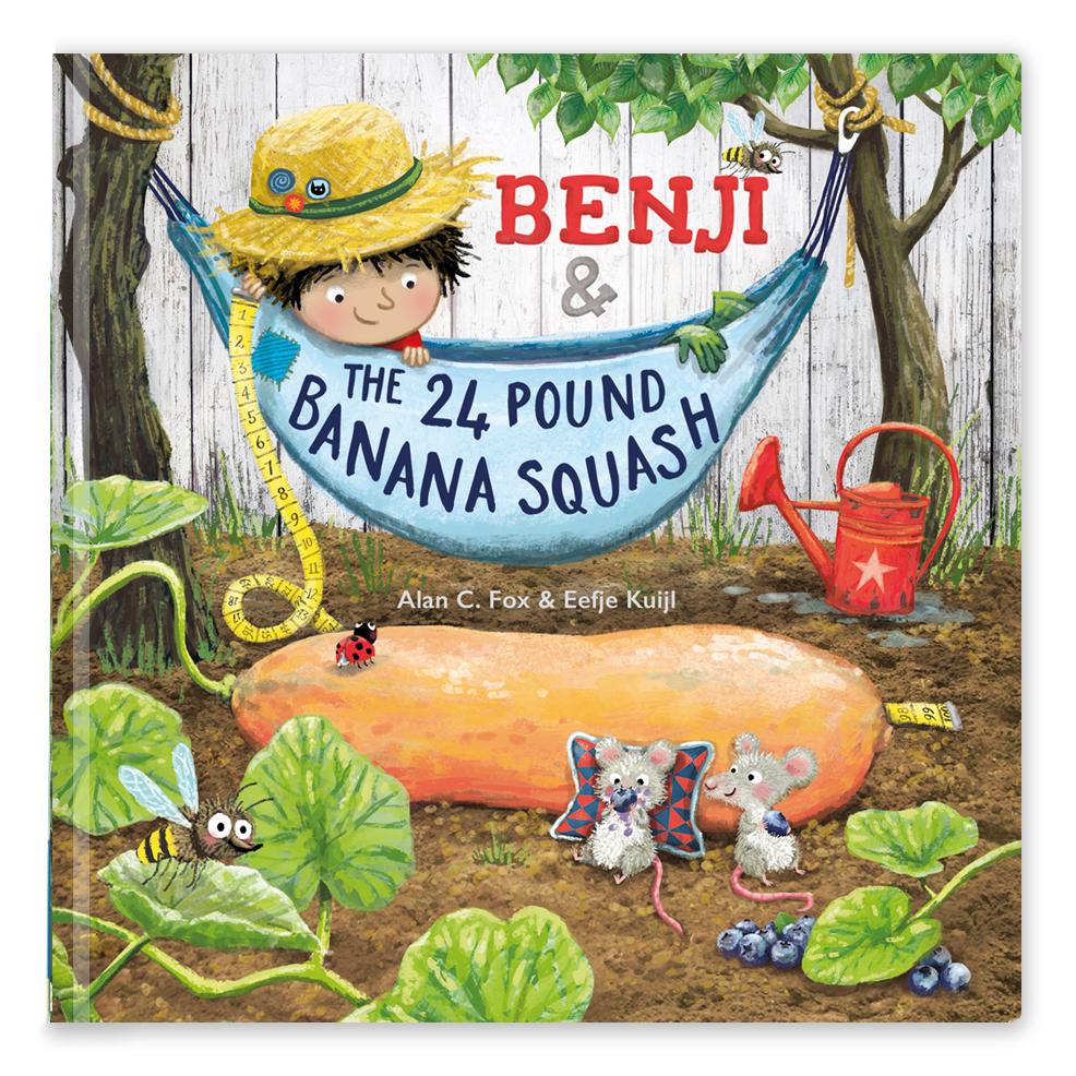 Benji and the 24 pound bananasquash