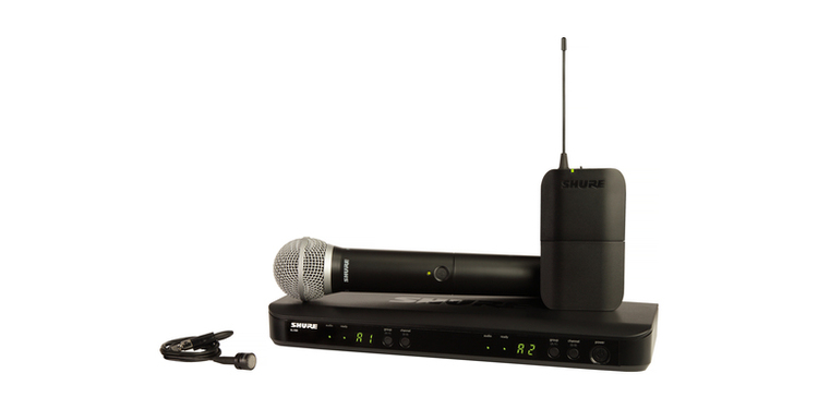 SHURE BLX88 DUAL WIRELESS MIC SYSTEM