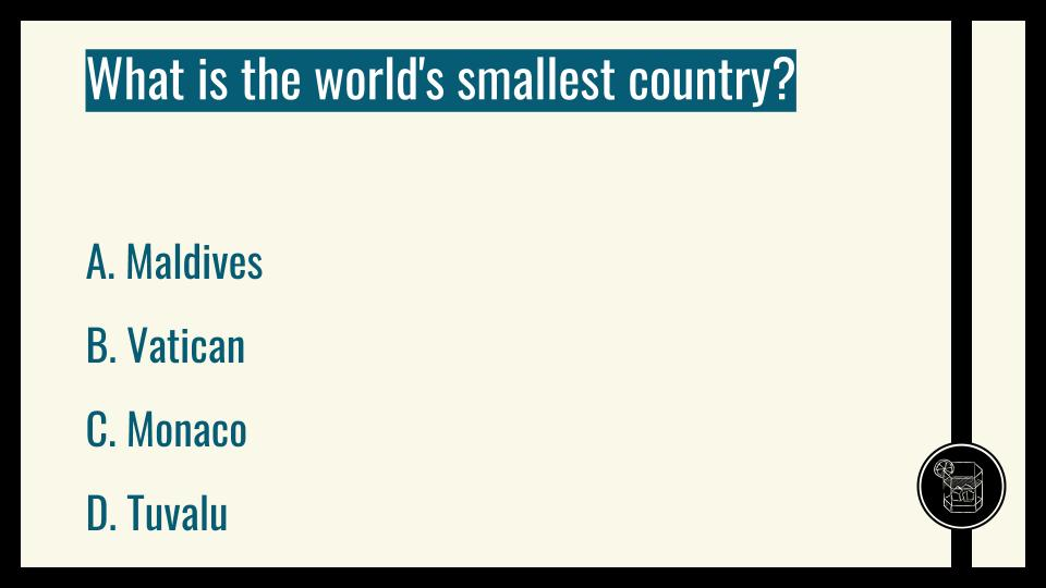 What is the world's smallest country?