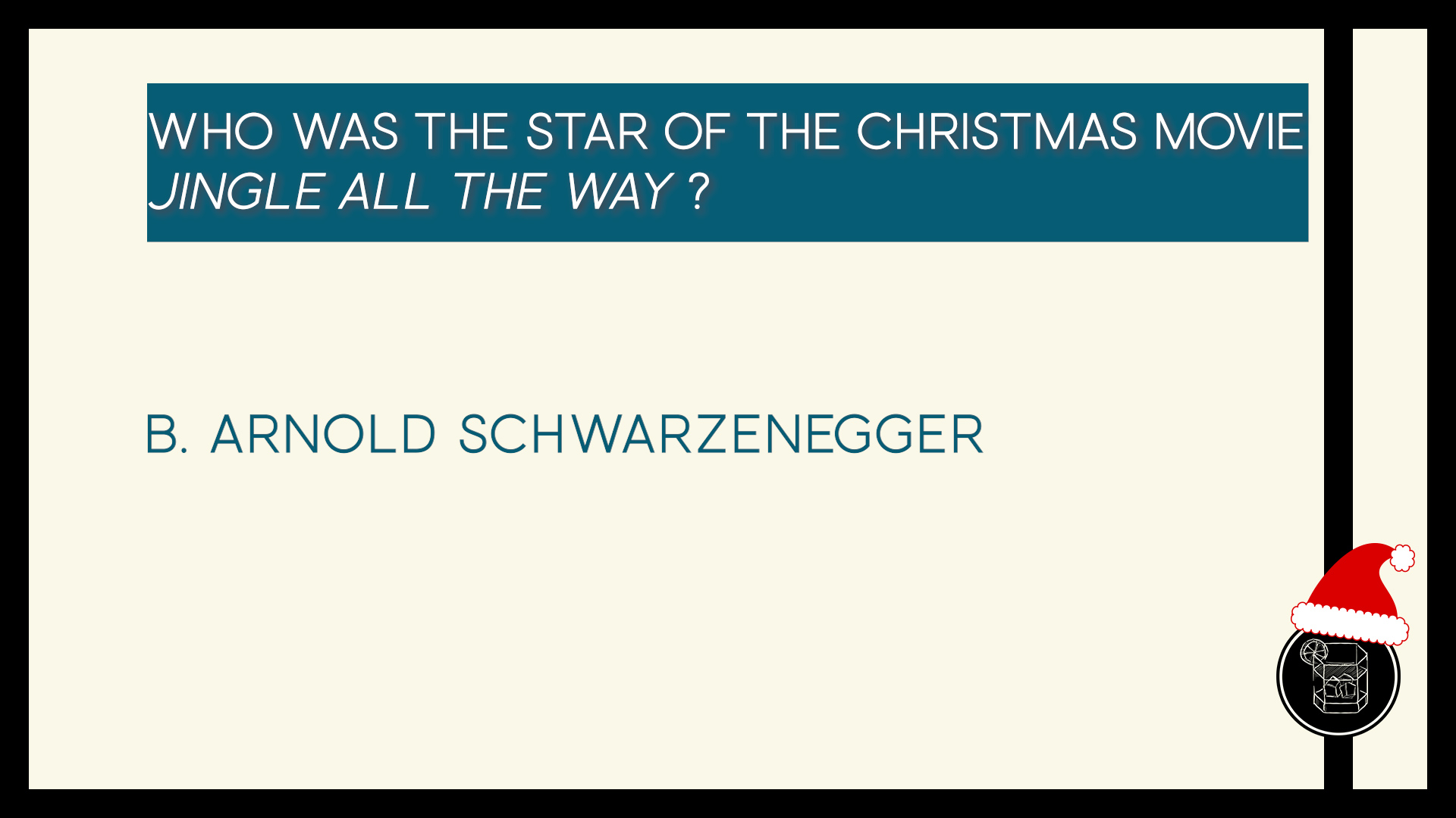 Who was the star of the Christmas movie Jingle All the Way ?
