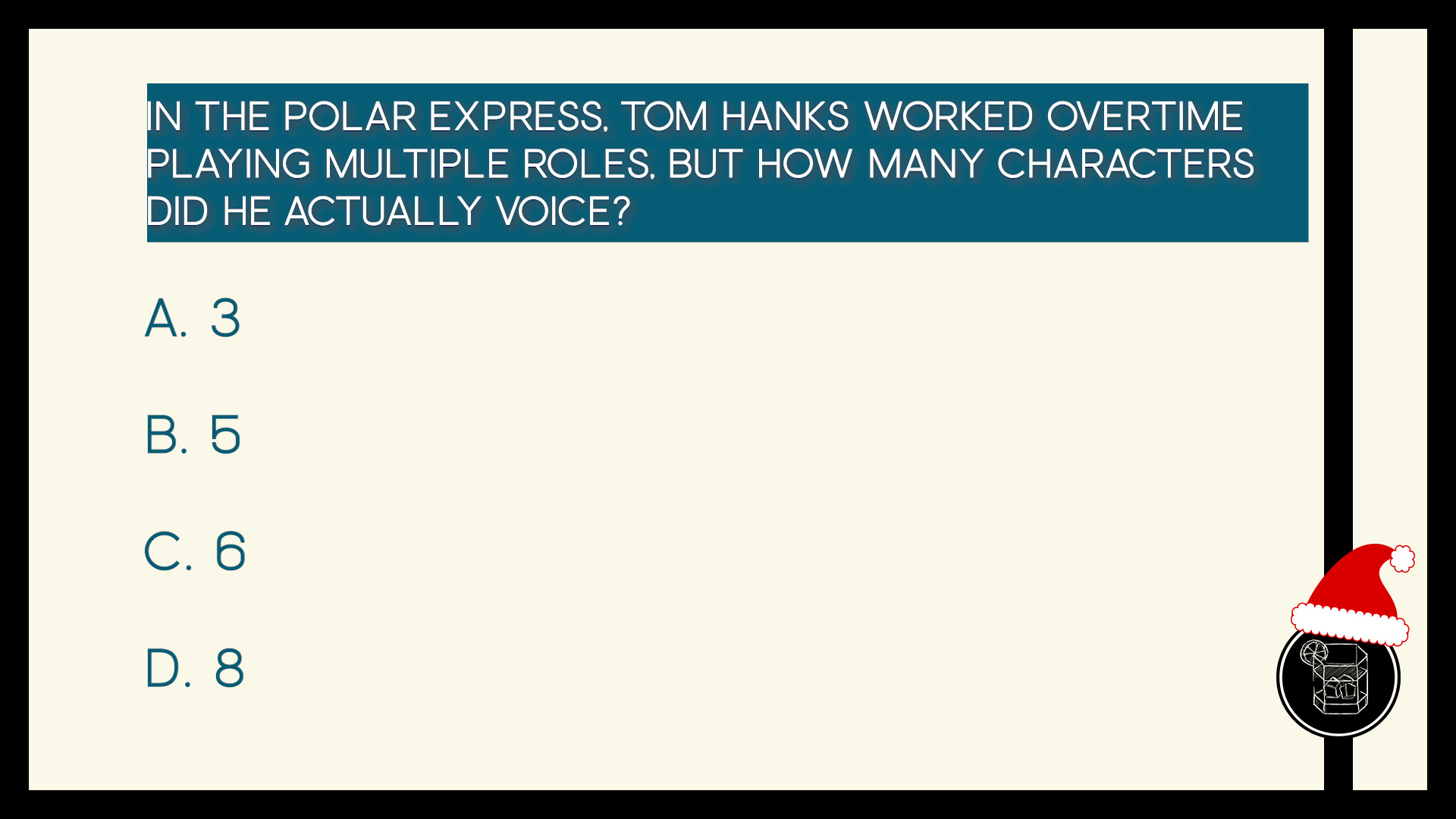 In The Polar Express, Tom Hanks worked overtime playing multiple roles, but how many characters did he actually voice?