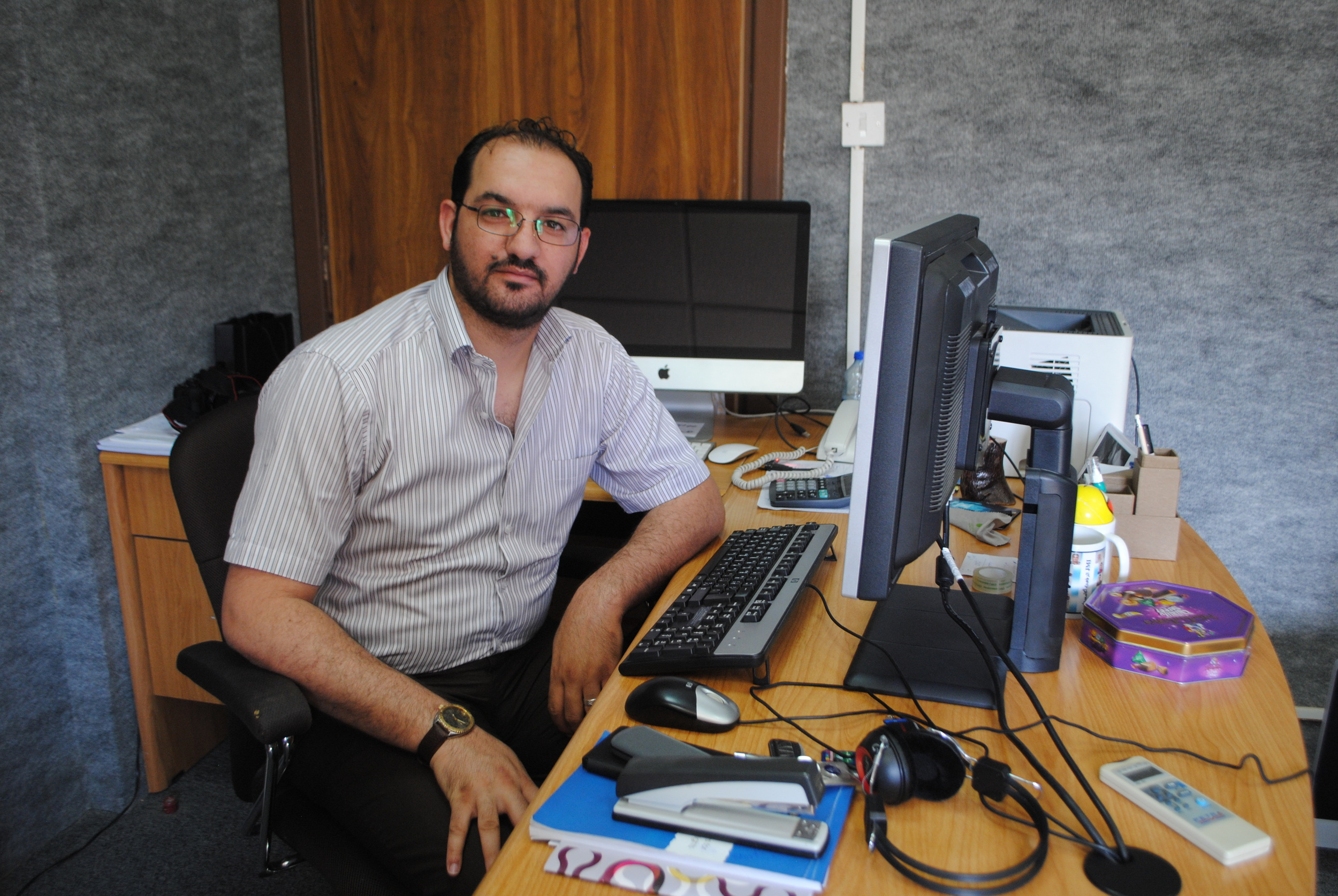 Abdullatif Najim. Photograpgh by StefaniaDi Paola