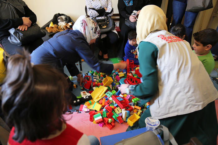 Lego can be useful as a way of engaging those who have suffered trauma.