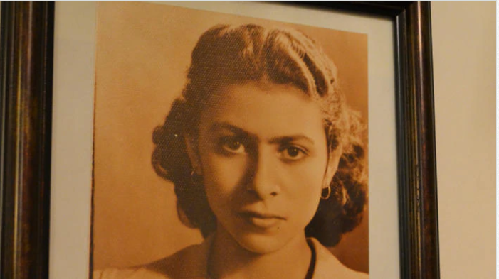 Vera Bisharat, the grandmother that inspired the cooking school.