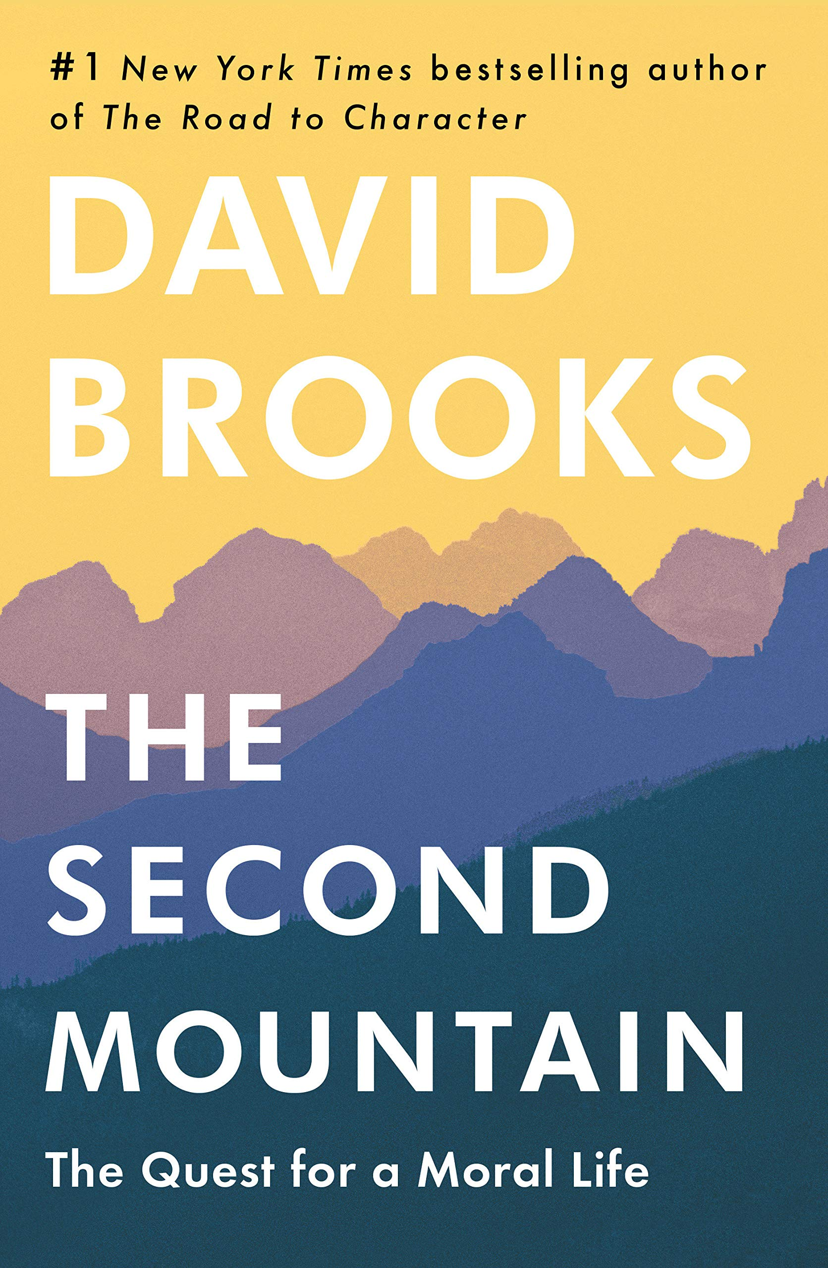 David Brooks is a well-known columnist for the  New York Times  and many other publications of note. Along with Mark Shields, Brooks makes weekly appearance on the PBS NewsHour to offer analysis of breaking political news. He is the bestselling author of  The Road to Character (2015),  The Social Animal  (2011),  Bobos in Paradise  (2000), and On Paradise Drive  (2004).  In The Second Mountain,  he tackles the deep question of life's meaning, what it is to live a meaningful life. The fundamental challenge, he believes, is to abandon our abiding desire to see work, achievement, and wealth as the prizes that will give us what we want. Rather, according to Brooks, we need to pursue a higher calling: what the author describes as the moral life. Chapters in this book explore the meaning of vocation, marriage and family, philosophy and faith, and community.