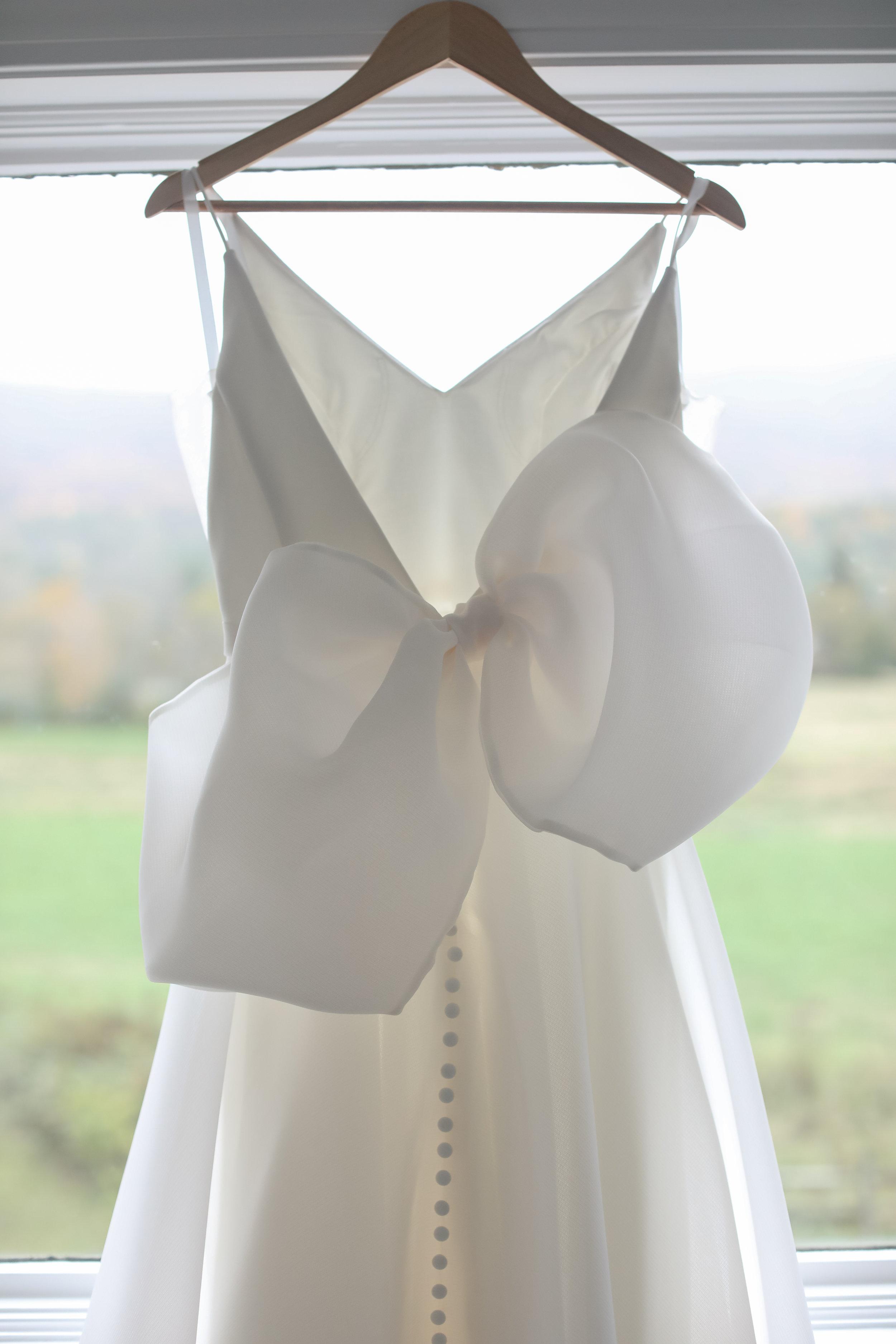 Bridal Gown Wedding Gown Organza Formal Gown Wedding Dress Bow.jpg