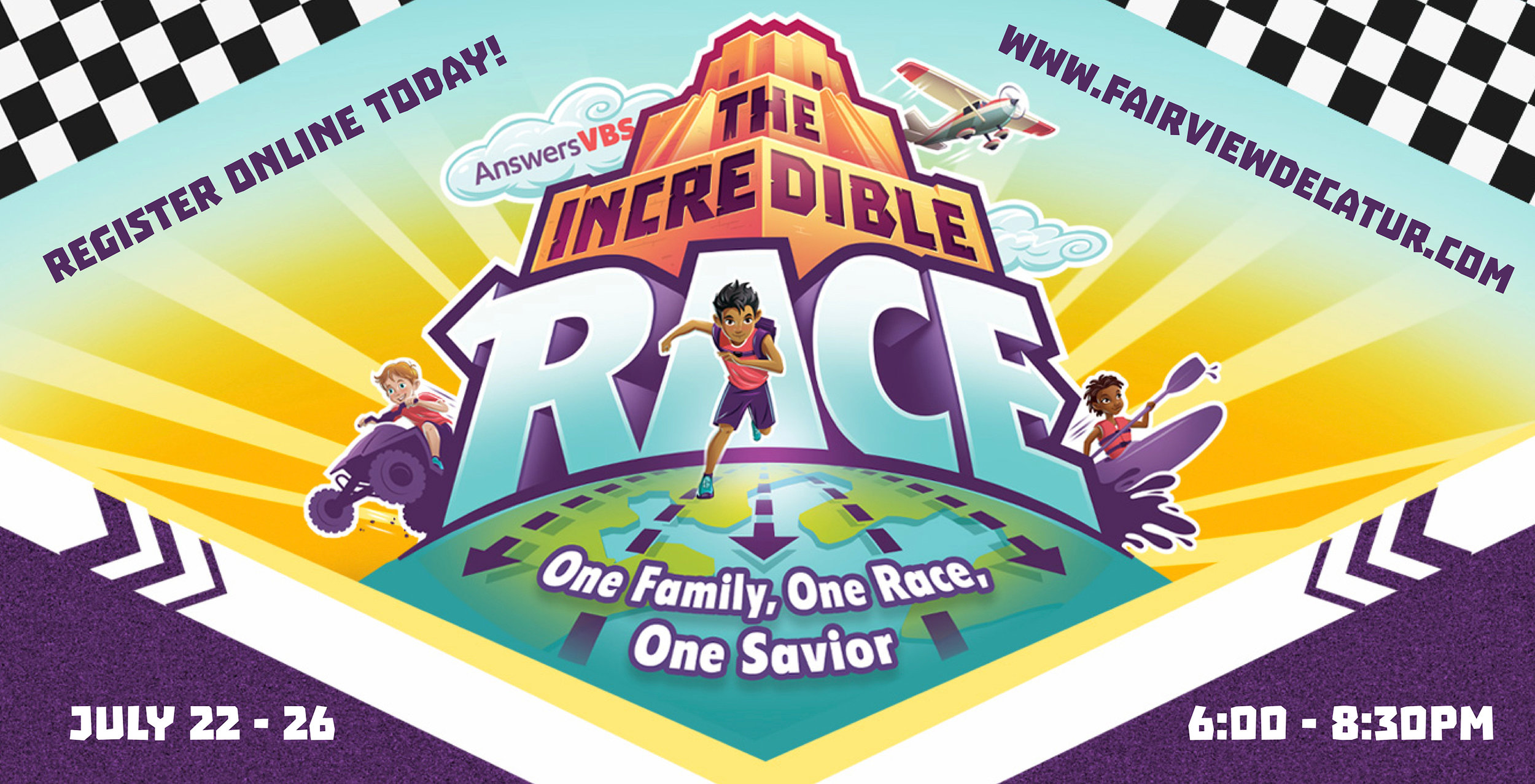 Join us for VBS this Summer! - You're invited to VBS @ Fairview!