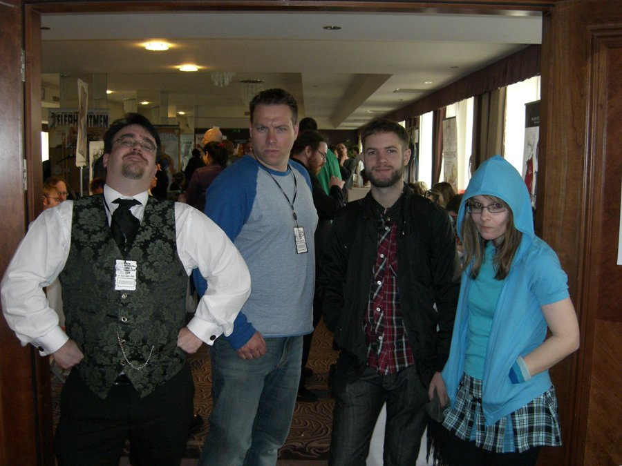 The Interactives team at Bristol Comic Expo.