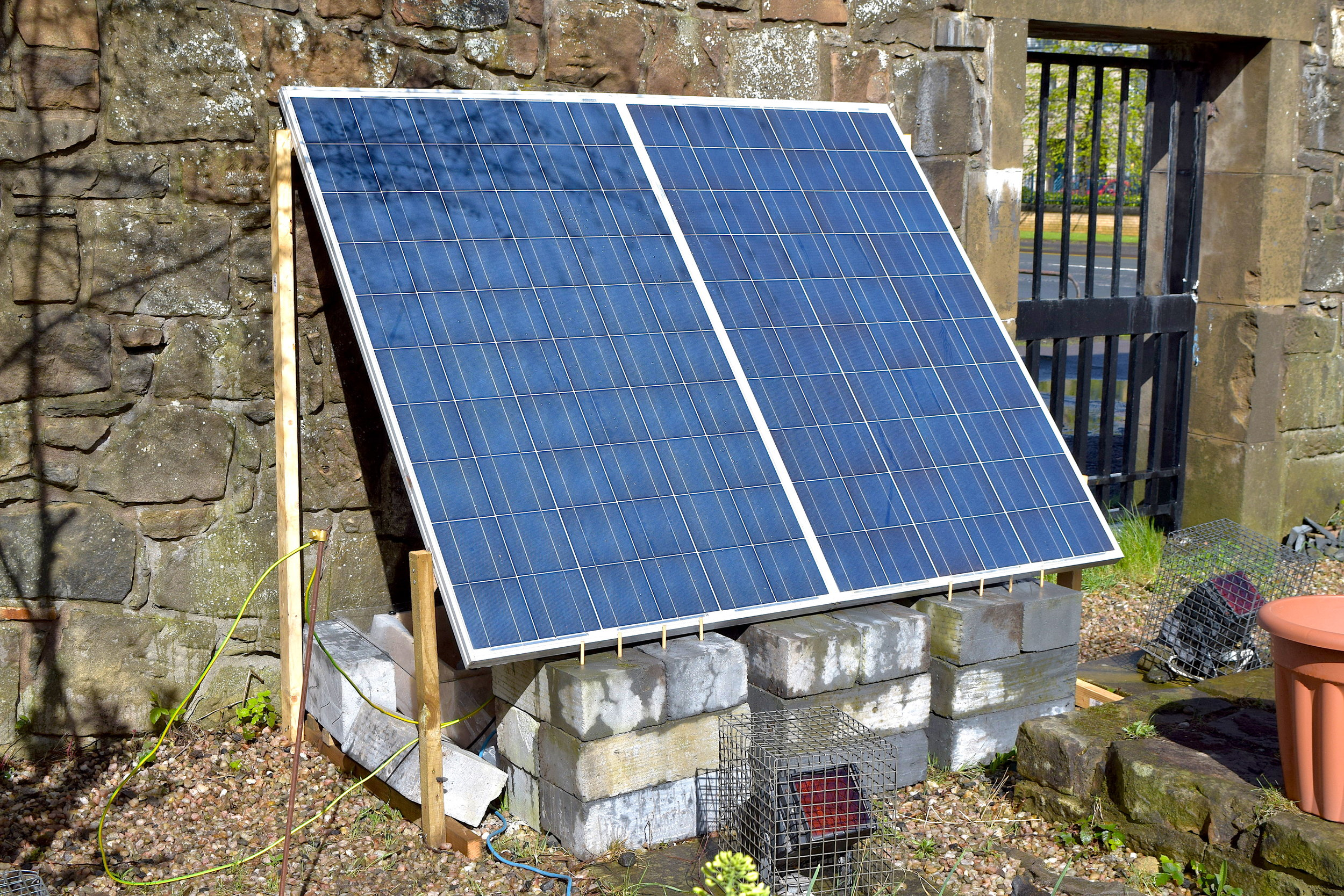 Leave Fallow - Solar Power System