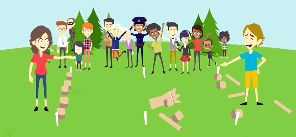 Click to learn how to play Kubb. The newest favorite backyard game.