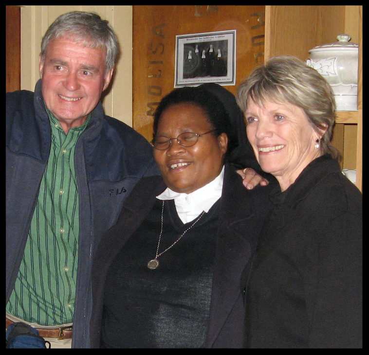 Sister Constance,  Bill and Harriet