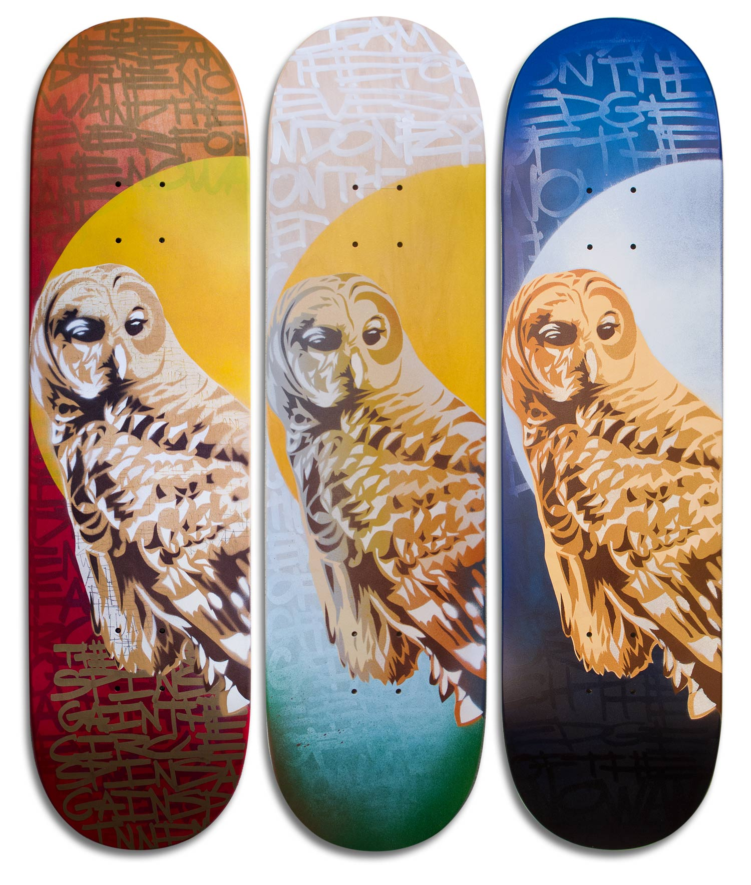 """Arrival"" Skateboard Deck Series"
