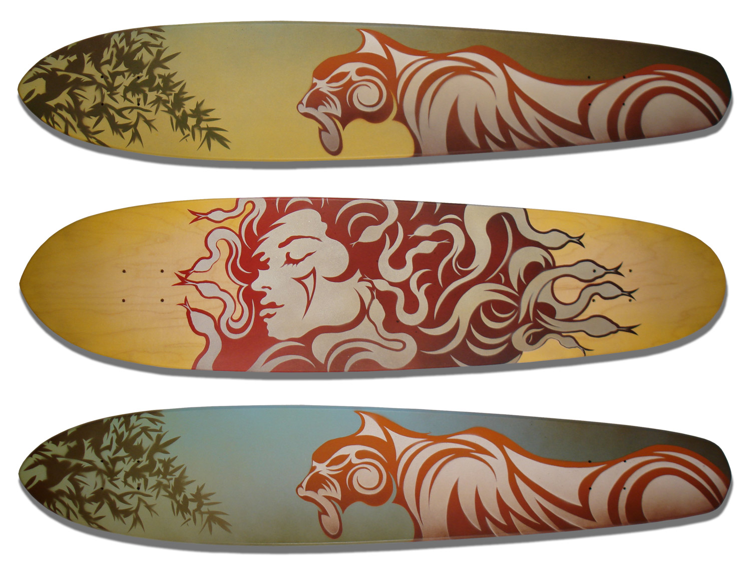 Longboard Deck Series
