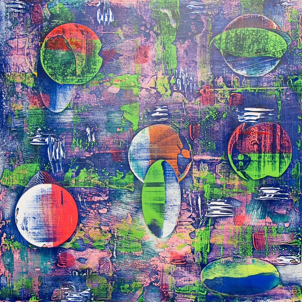 """""""Christmas Bulbs"""" by Allison Mahaney"""