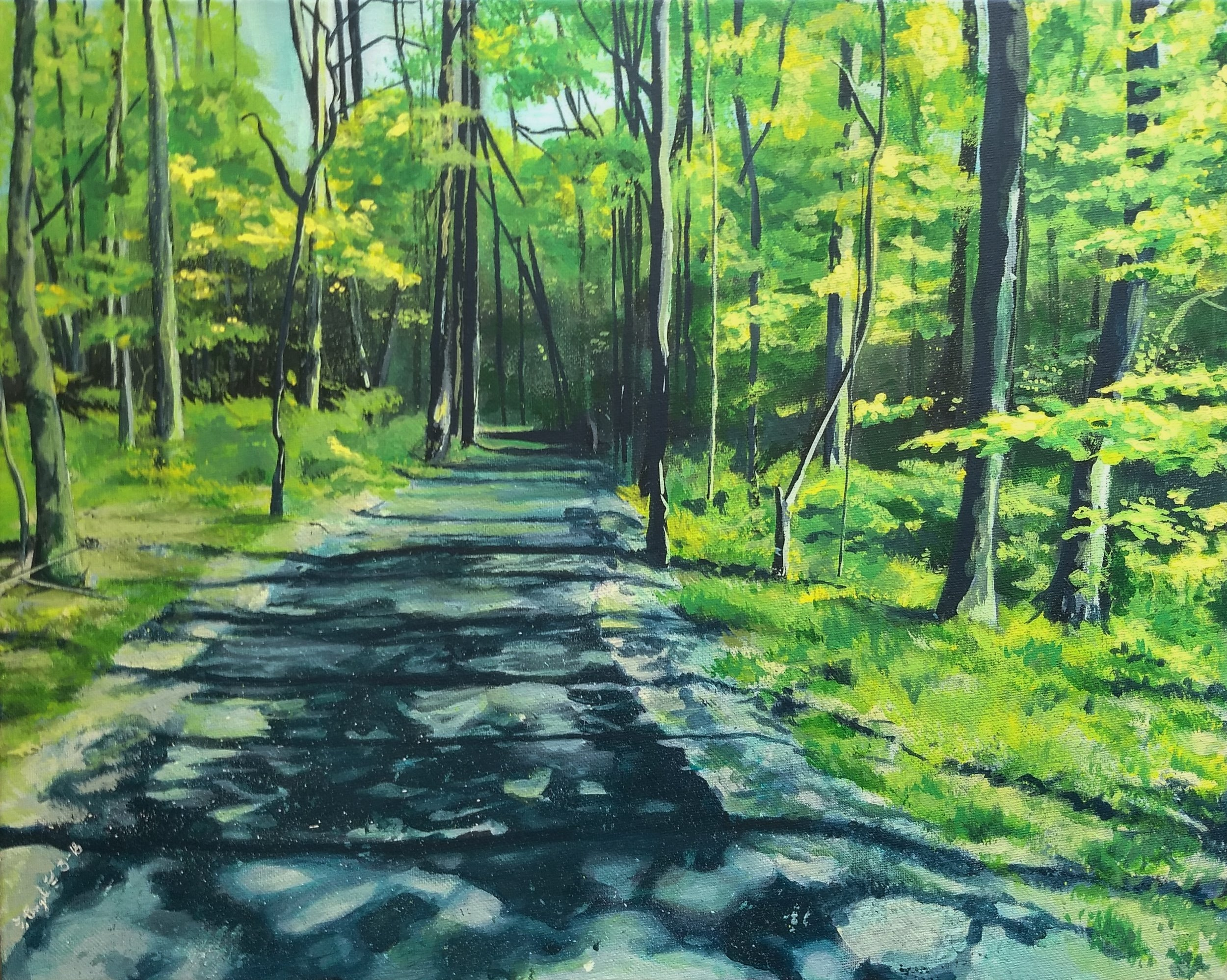 Reston Trail by Angele