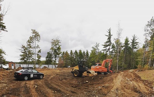 #golega. Getting set for a new custom build, executing a design from @passive_design to deliver a modest dwelling with big ideas. #tiliabuilders #queenscounty #novascotia