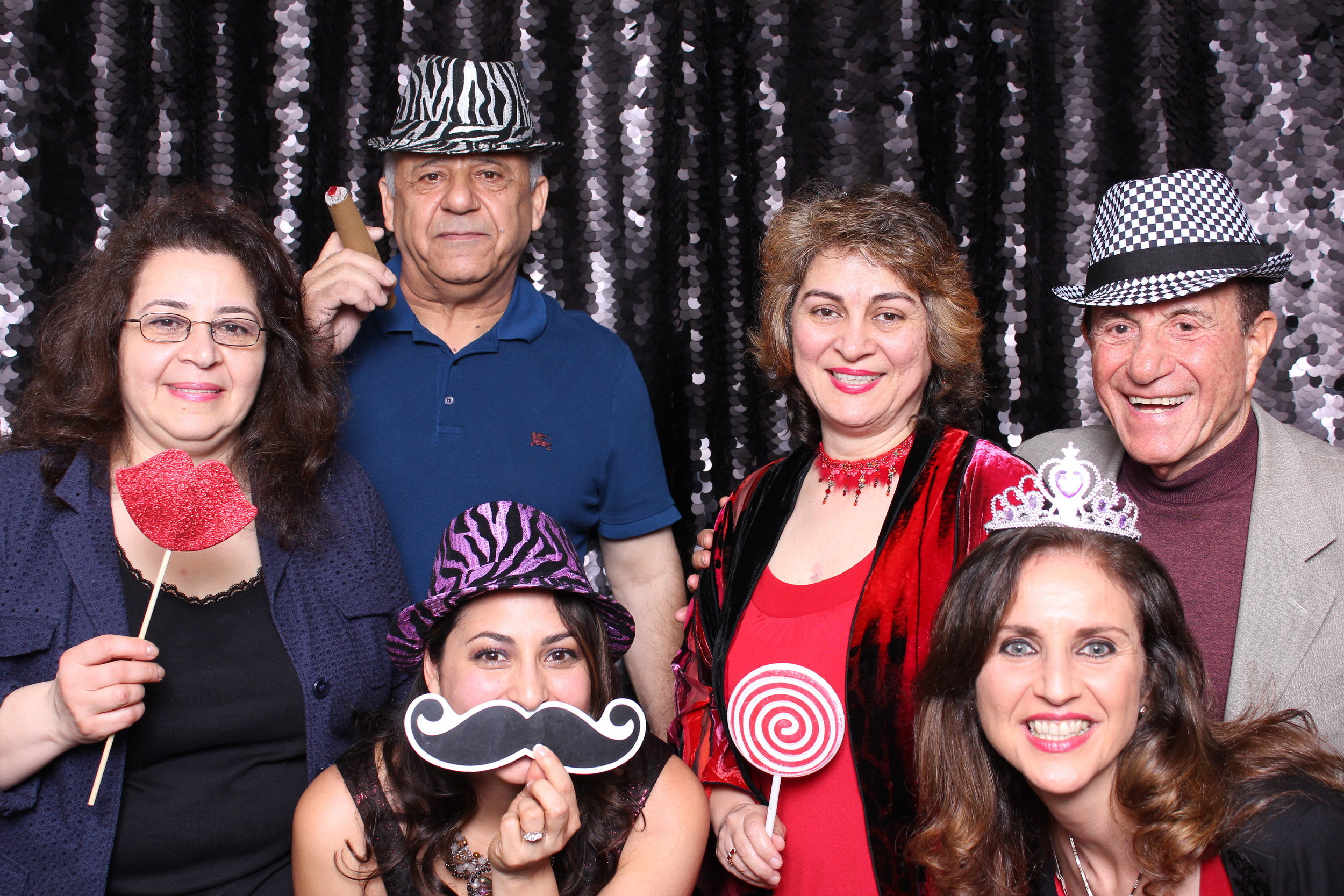 Valentine's Day party photobooth