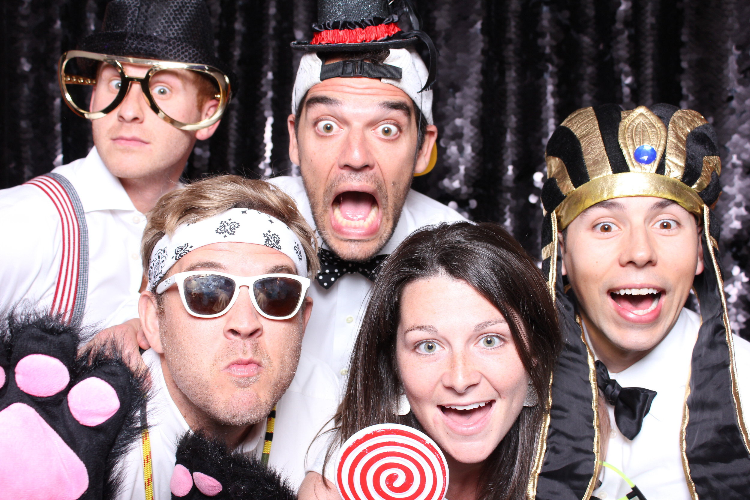 Stanford party photobooth