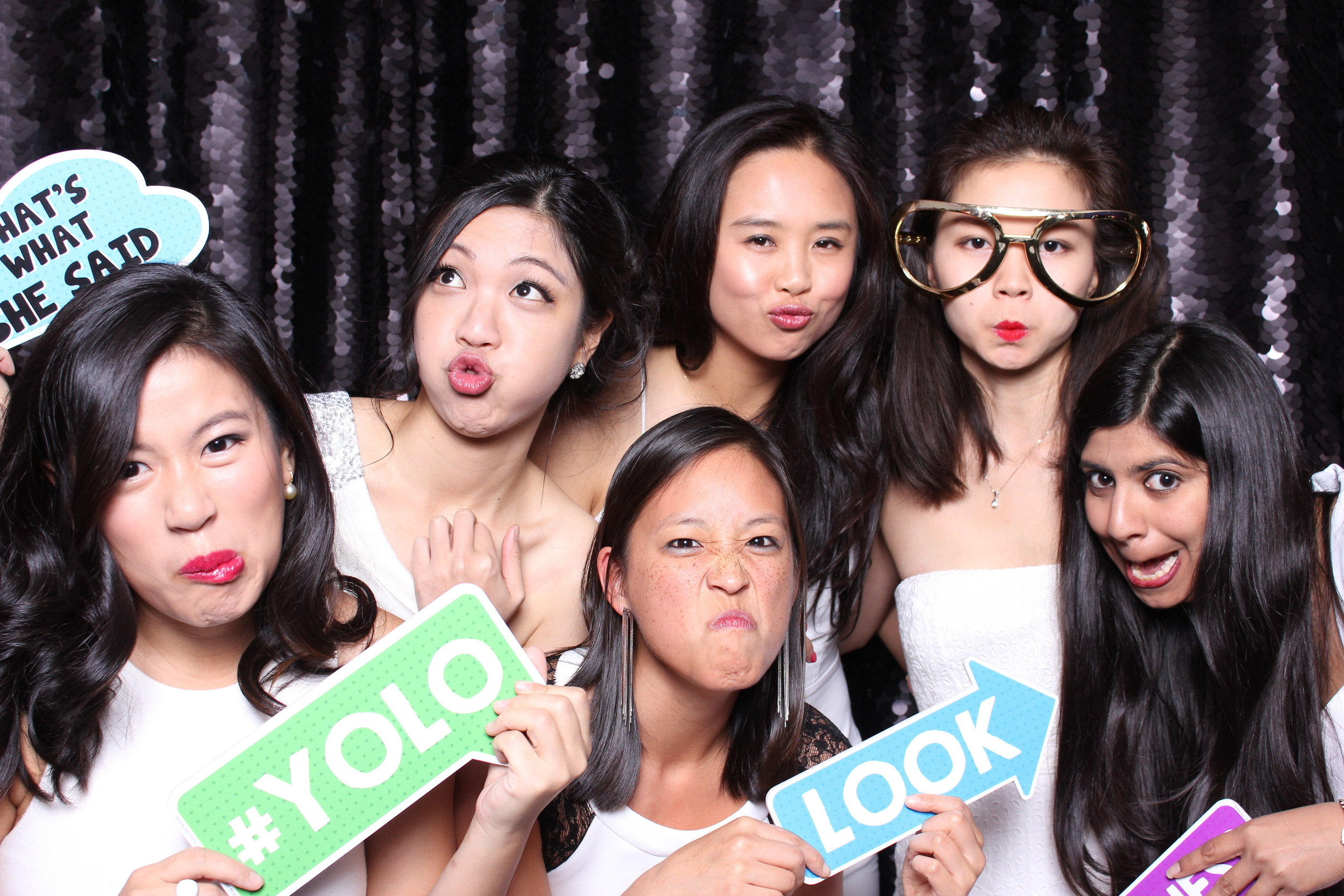 Funny face photobooth
