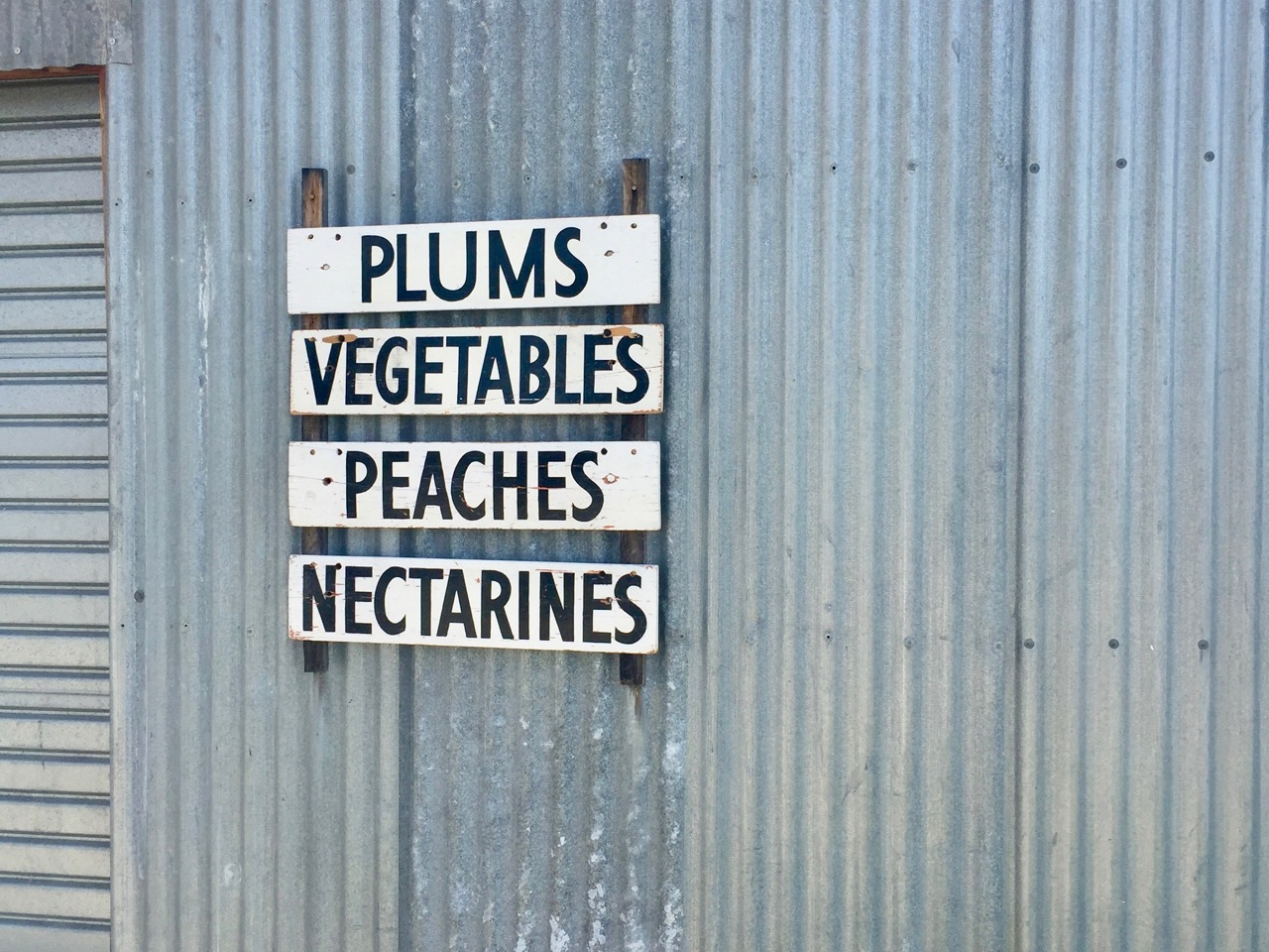 plums vegetables peaches nectarines