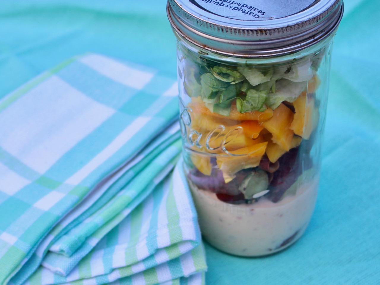 A kumara picnic salad idea