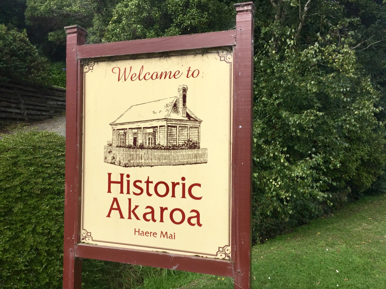 Haere mai to historic Akaroa