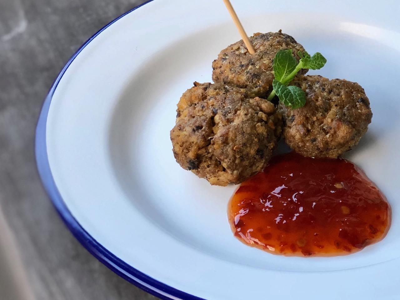 mussel meatballs