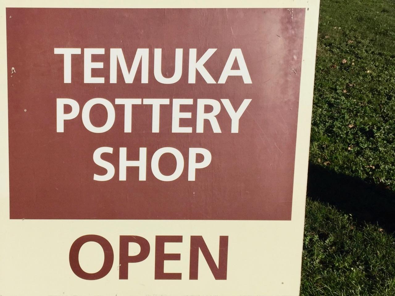 pottery shop sign
