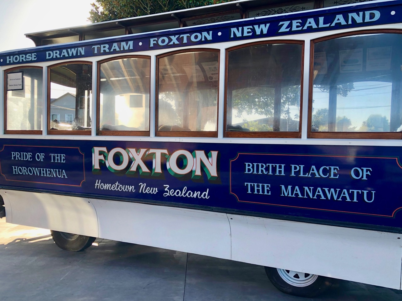 foxton tram